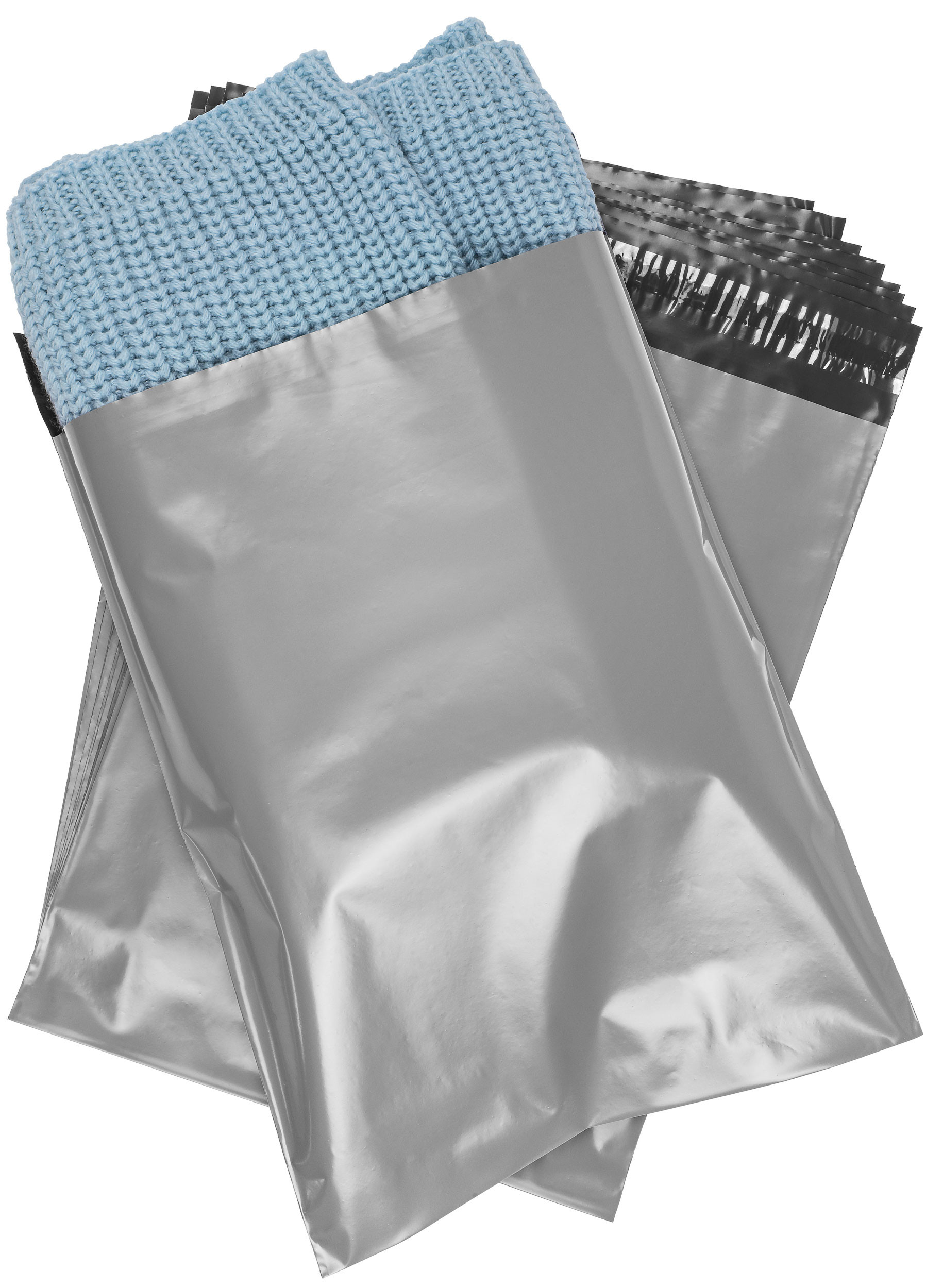 10x13 Poly Mailers Envelopes Self Sealing Bags - 2.4 Mil