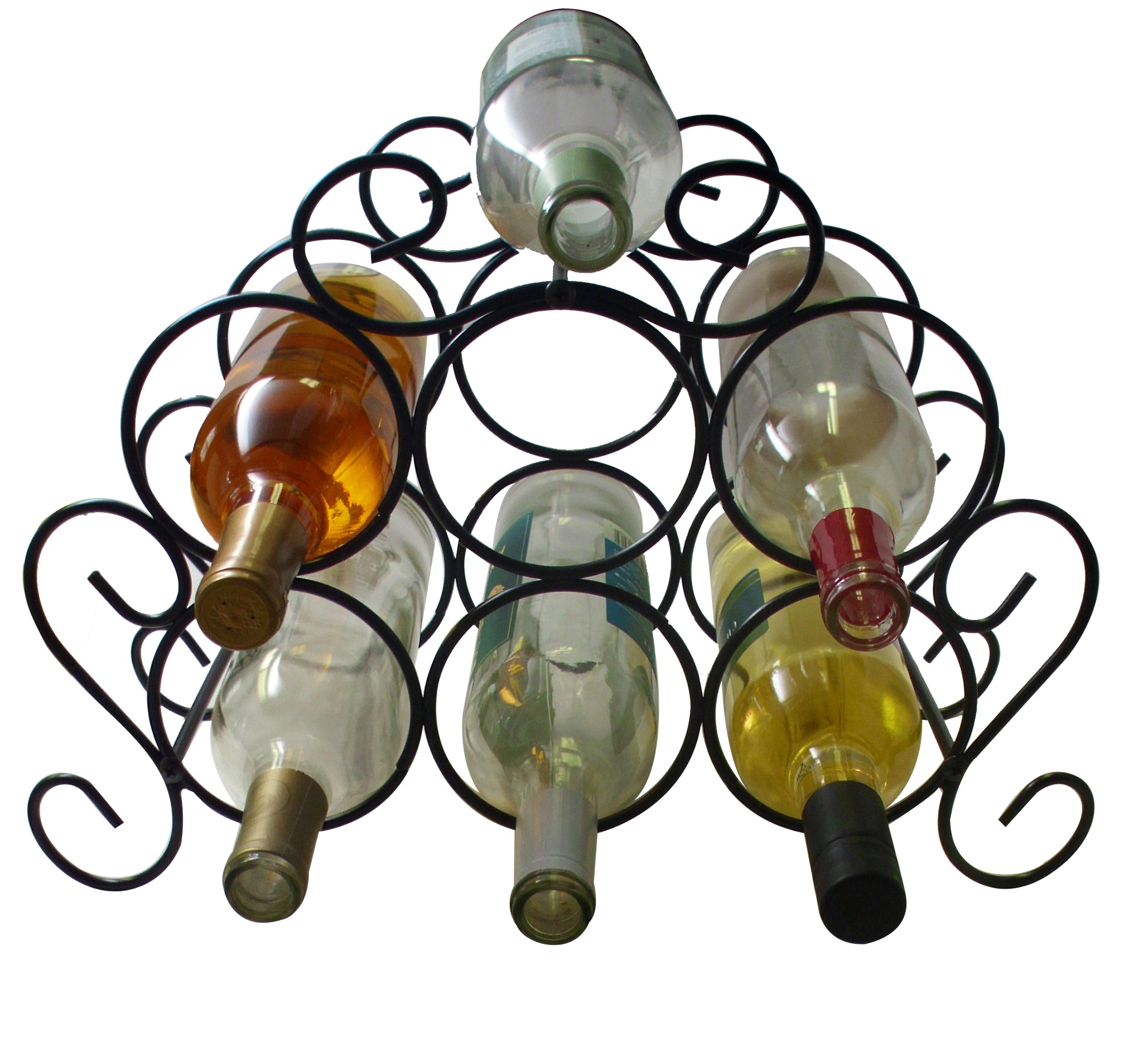 7-Bottle Minuet Wine Rack Main 2500