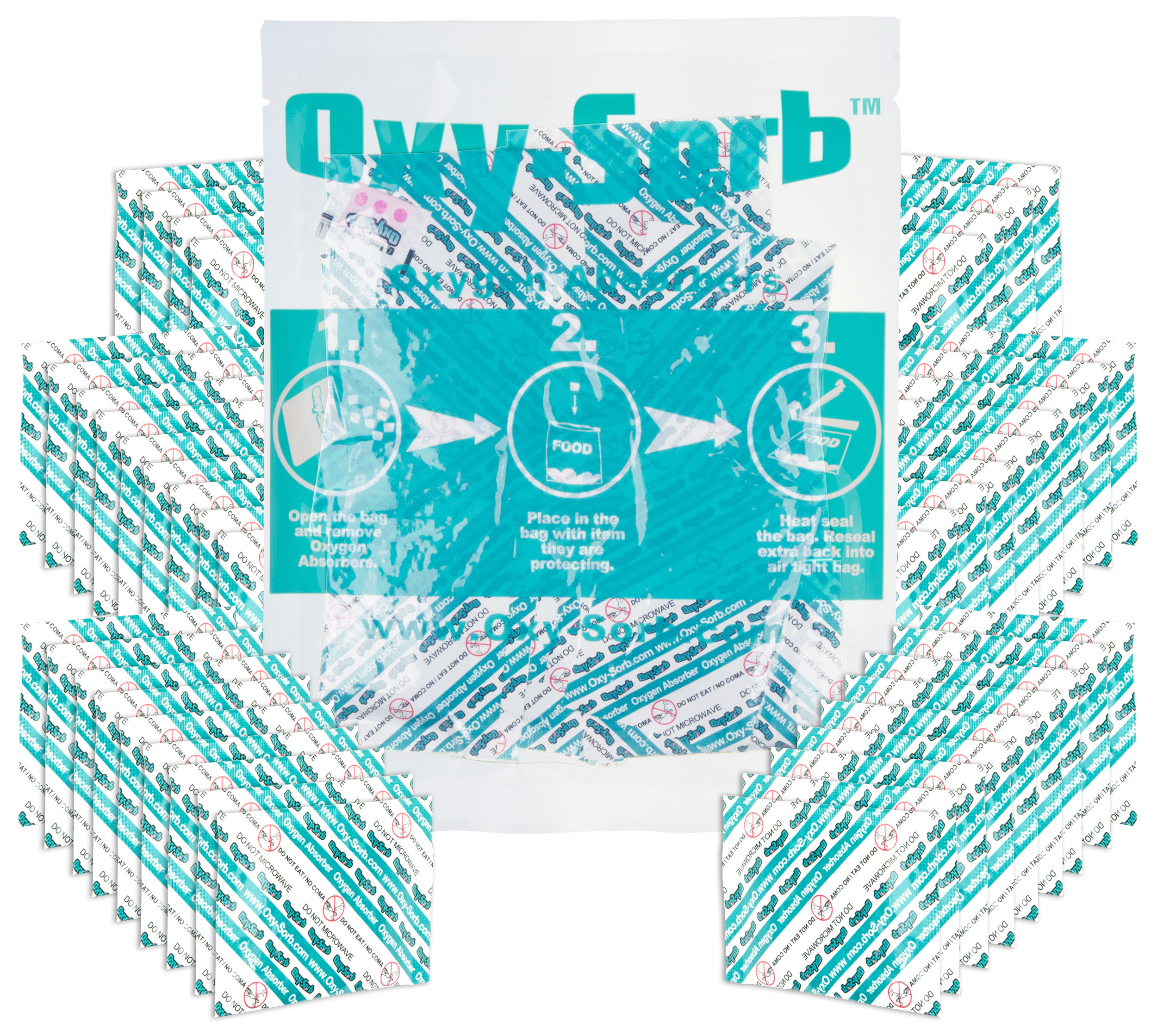 300cc Oxygen Absorber - Pack of 50