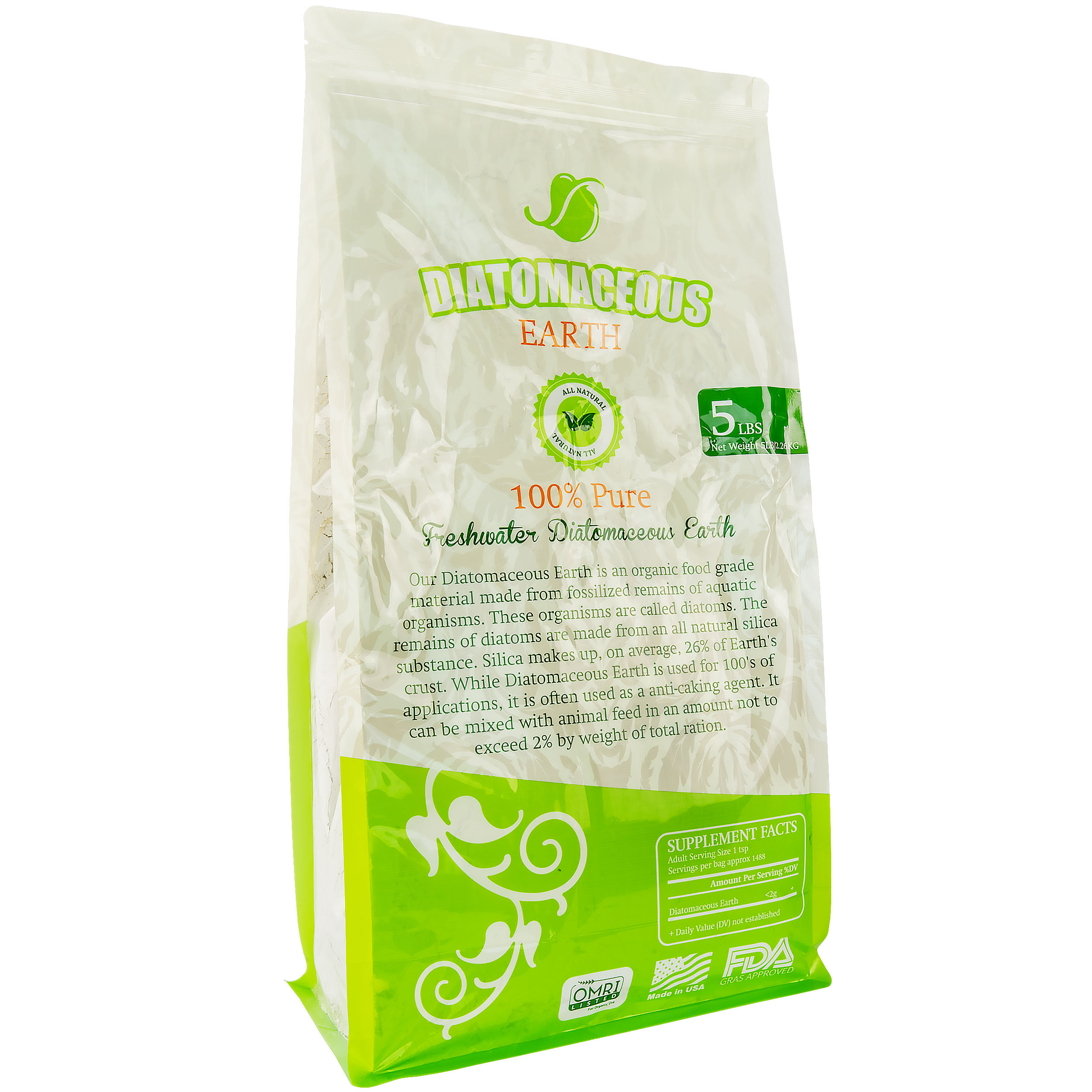 Diatomaceous Earth Food Grade 100% Pure