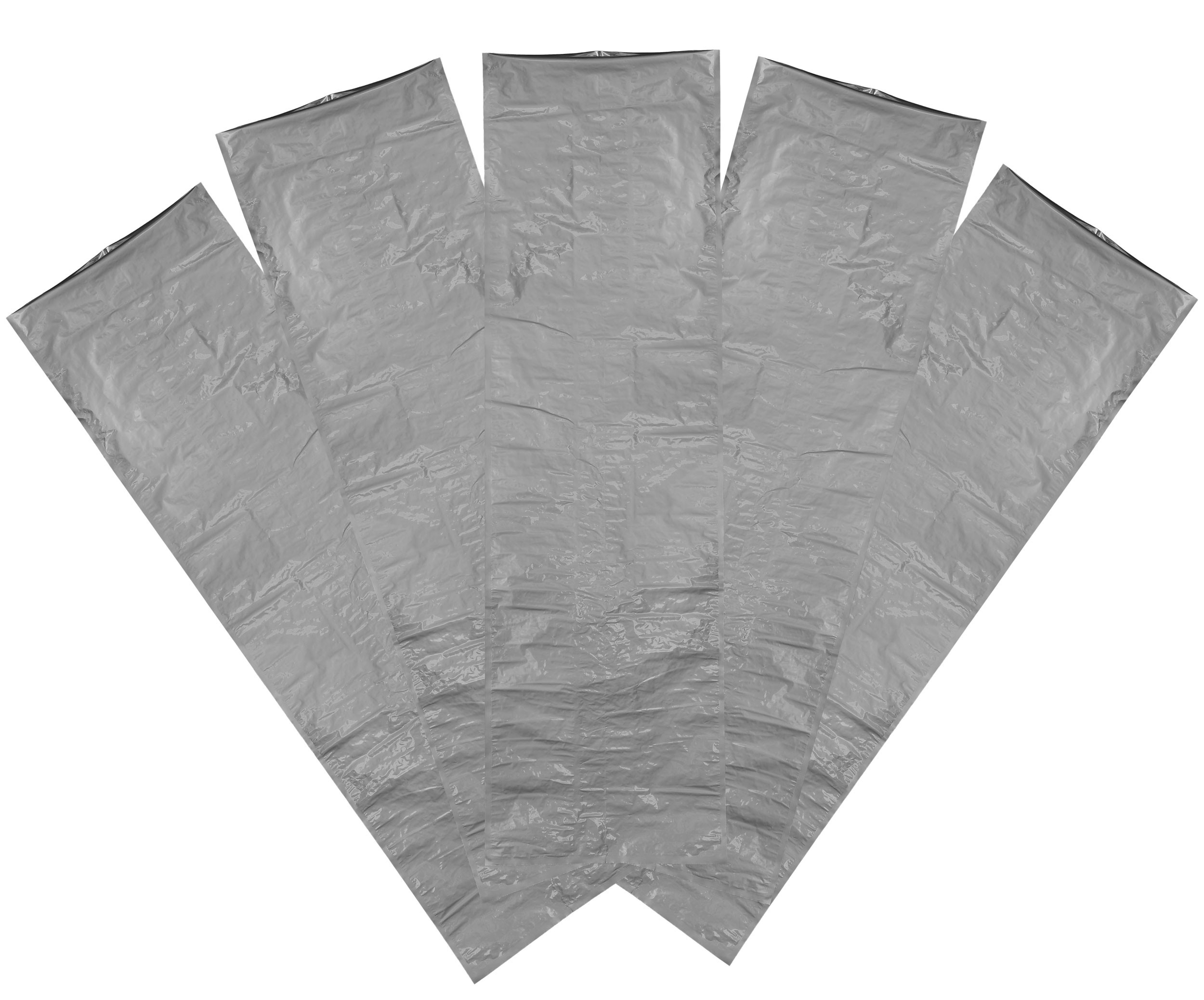 Five Side Sealing Aluminum Foil Bag, 5 pack