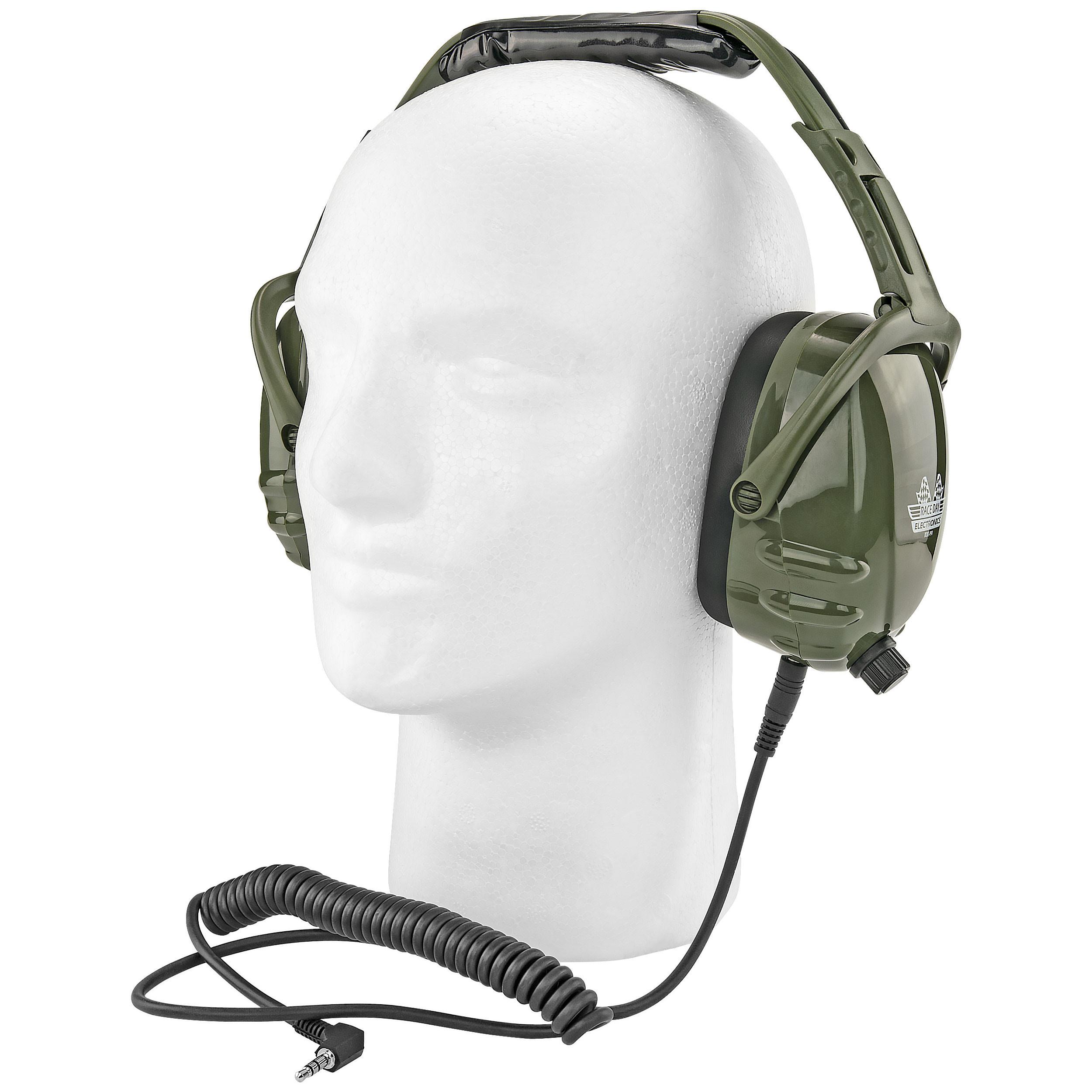 Earmuff Headphones - iPhone & Scanner Compatible - Great for Impact Sports Like Hunting, Gun Range, NASCAR Races, Construction, Work, etc.