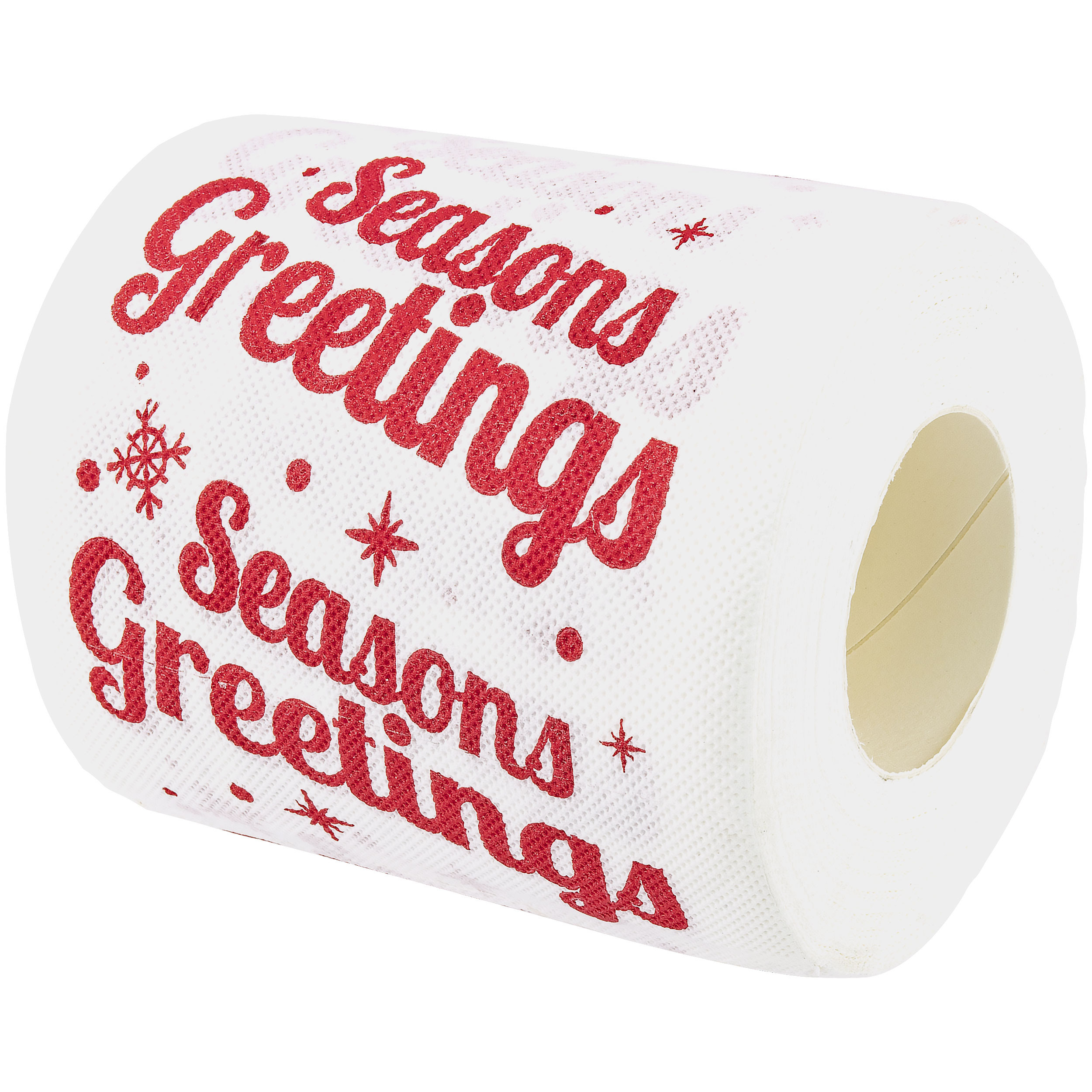 Season Greetings Holiday Novelty Toilet Paper