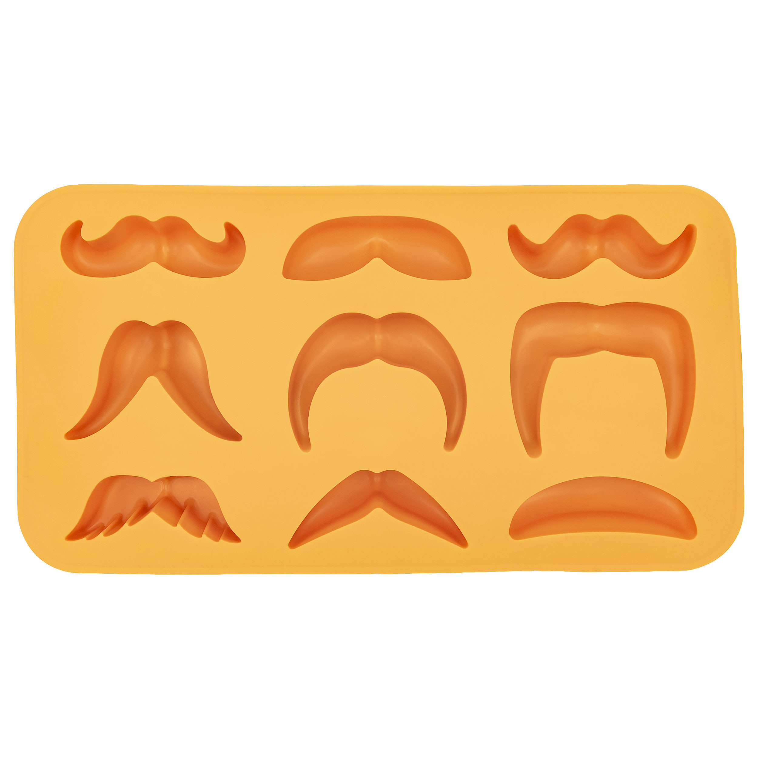 Moustache Variety Ice Cube Tray Thumb 250