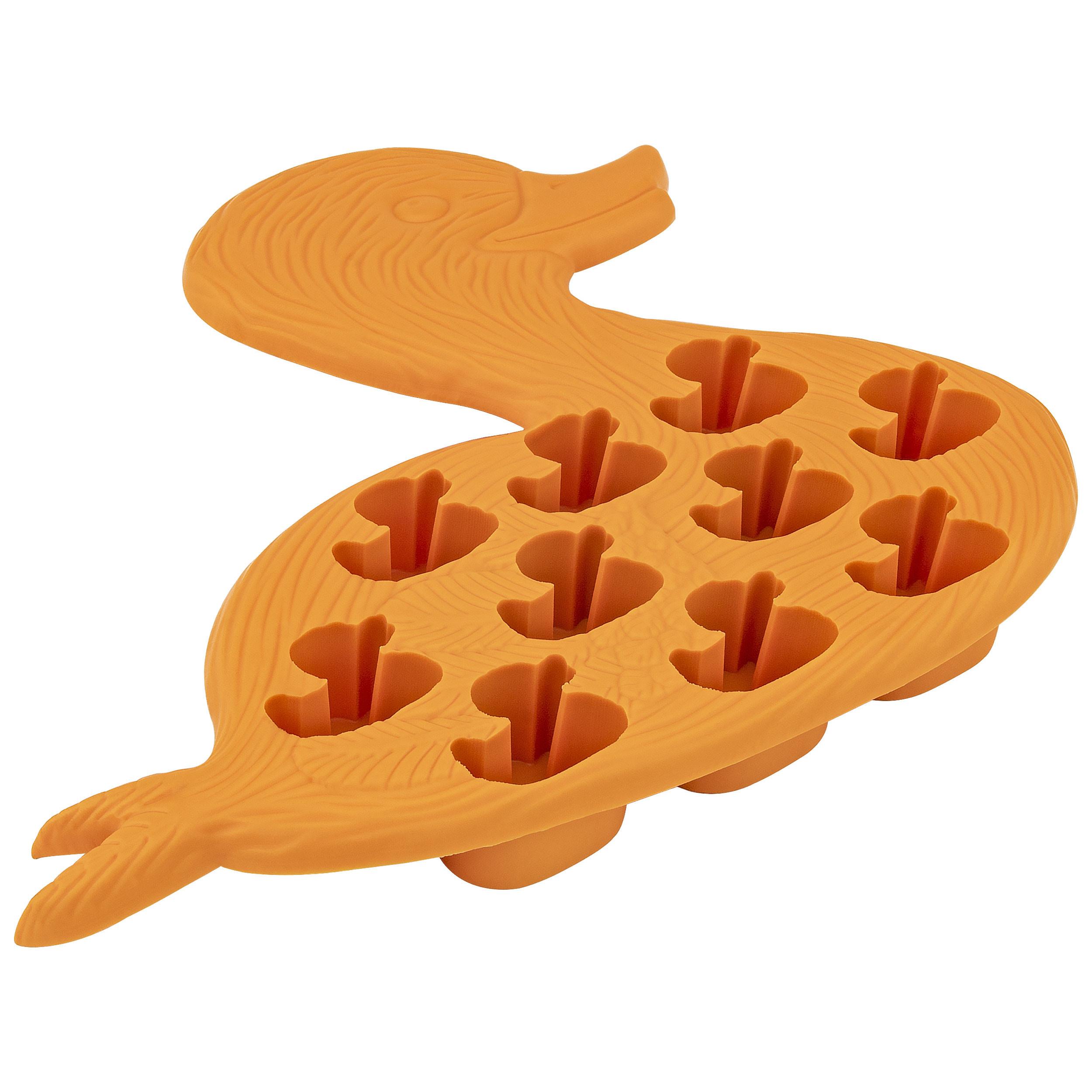 Fairly Odd Novelties FON-10011 Duck Ice Cube Tray, One Size, Orange
