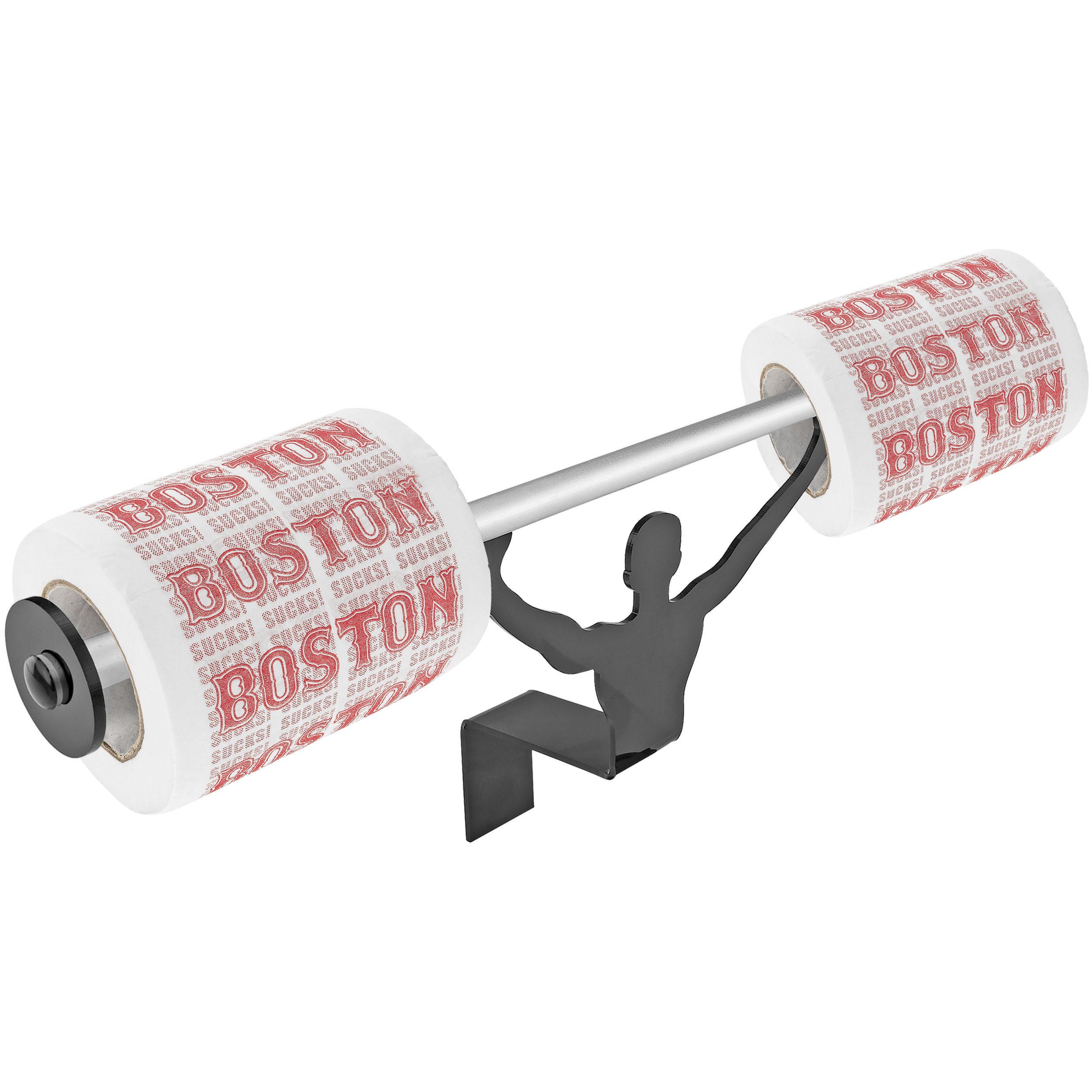 Fairly Odd Novelties FON-10159 Boston Sucks Toilet Paper W/Strong Man Holder Gift Set