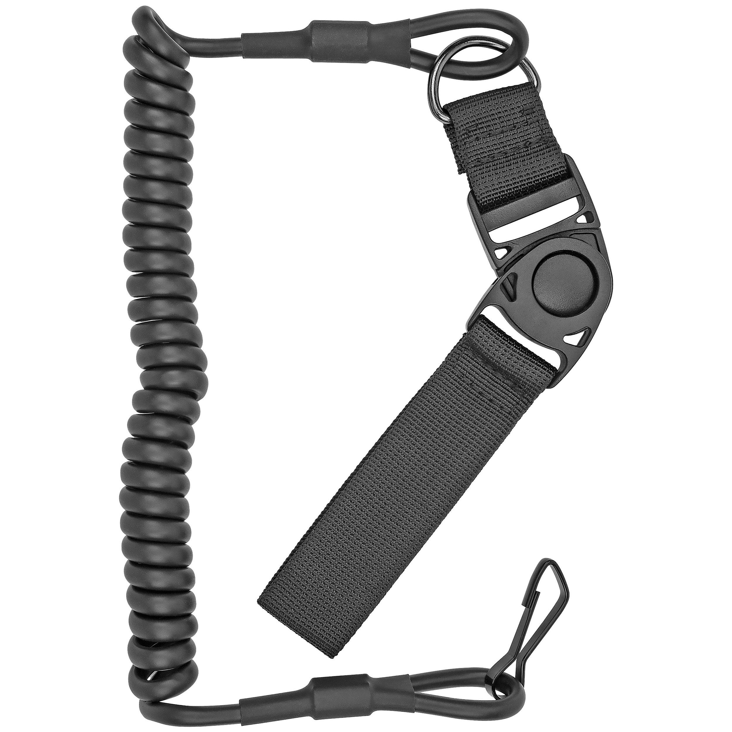 Boomstick Gun Accessories Tactical Pistol Lanyard, Black
