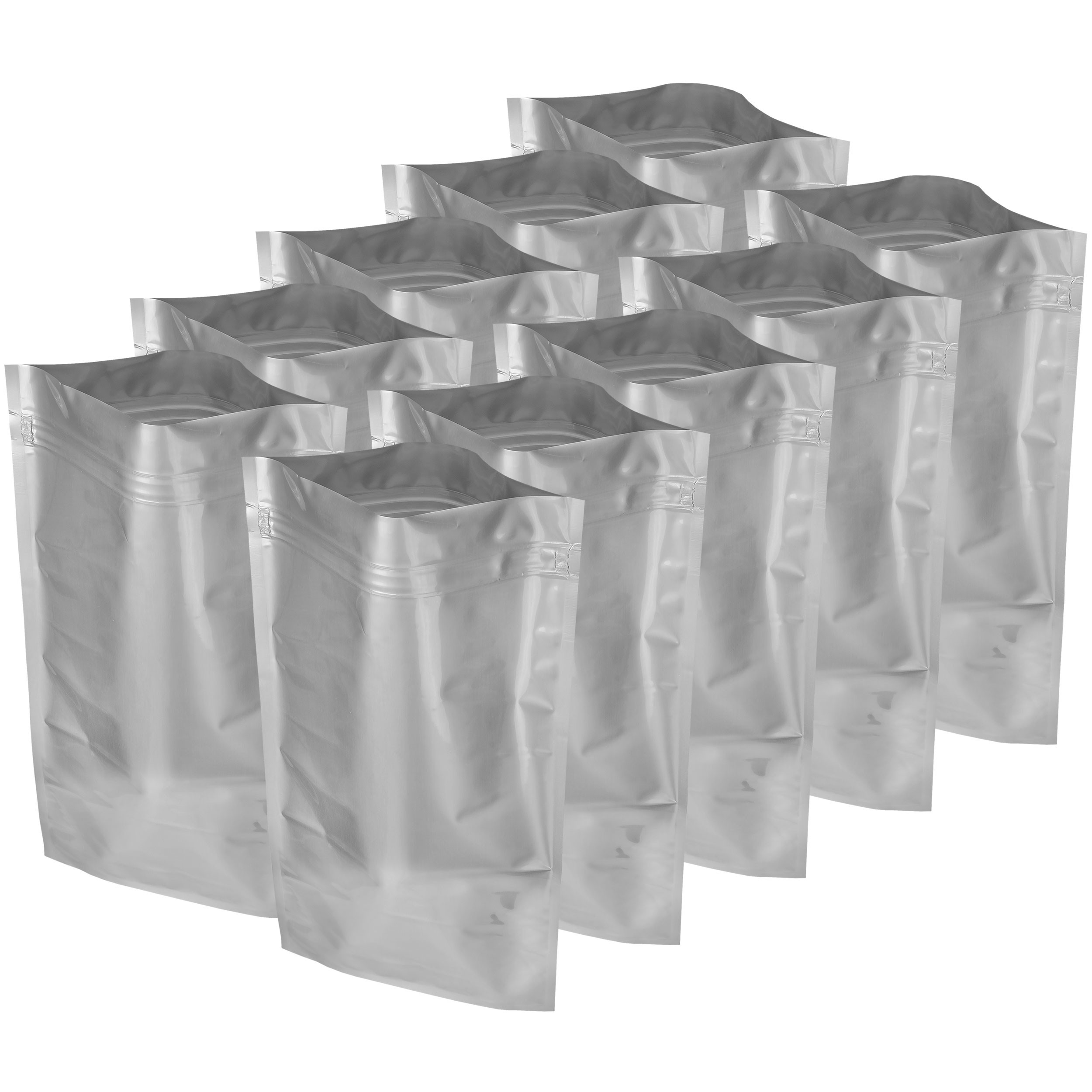 "20x30"" Aluminized Moisture Barrier & Static Shielding Zipper Bags, Set of 10"