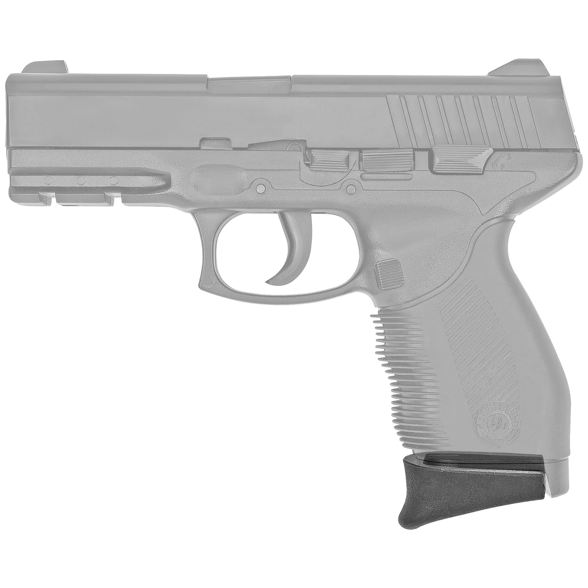 "BOOMSTICK Gun Accessories Glock Grip Extension Fits Glock BOOM-10070 26/27/33/39, Pistol 1"" Textured Pinky, Black"