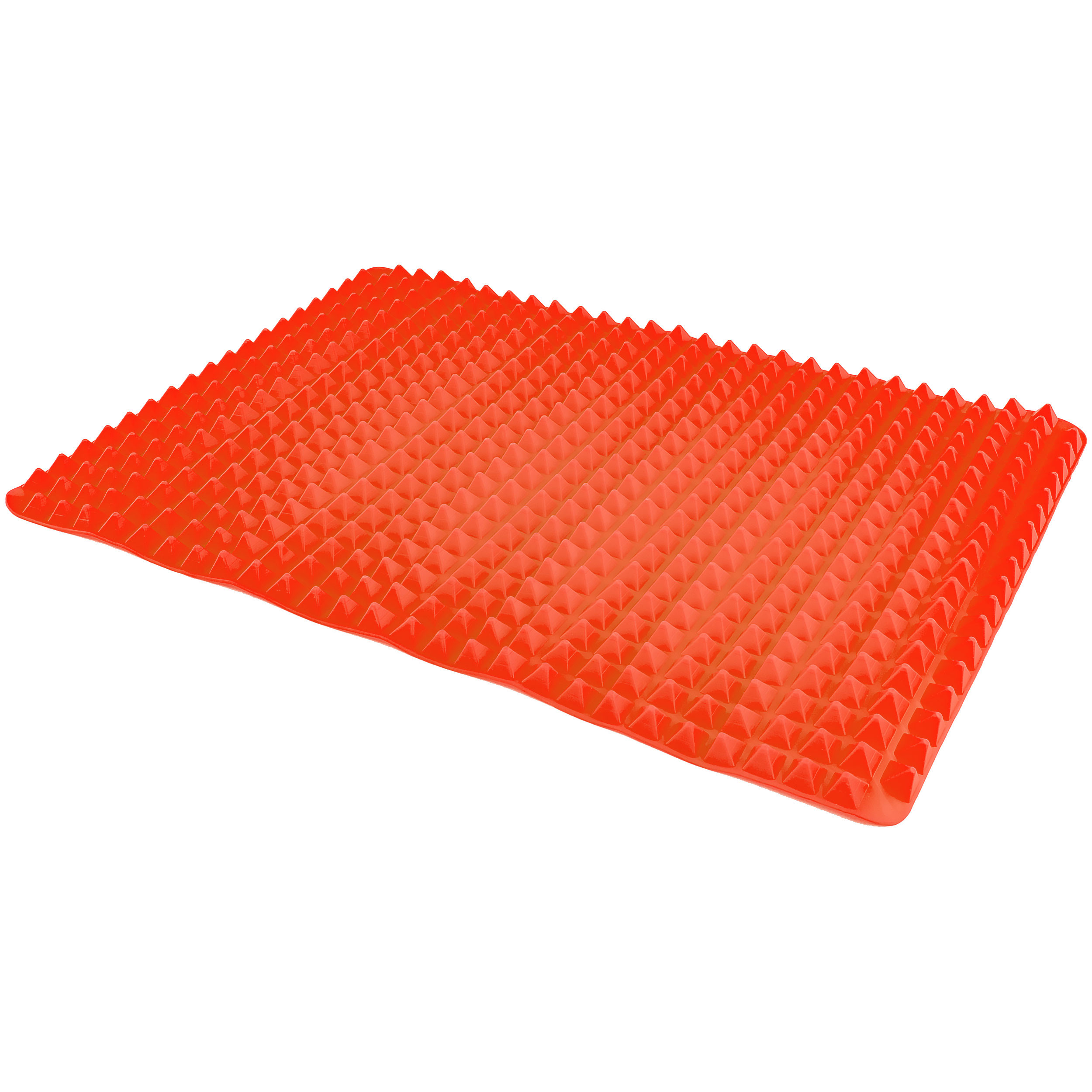 Southern Homewares SH-10177 Healthy Homewares Raised Silicone Baking Sheet Non-Stick Cooking Mat Oven Tray Liner Red, One Size,