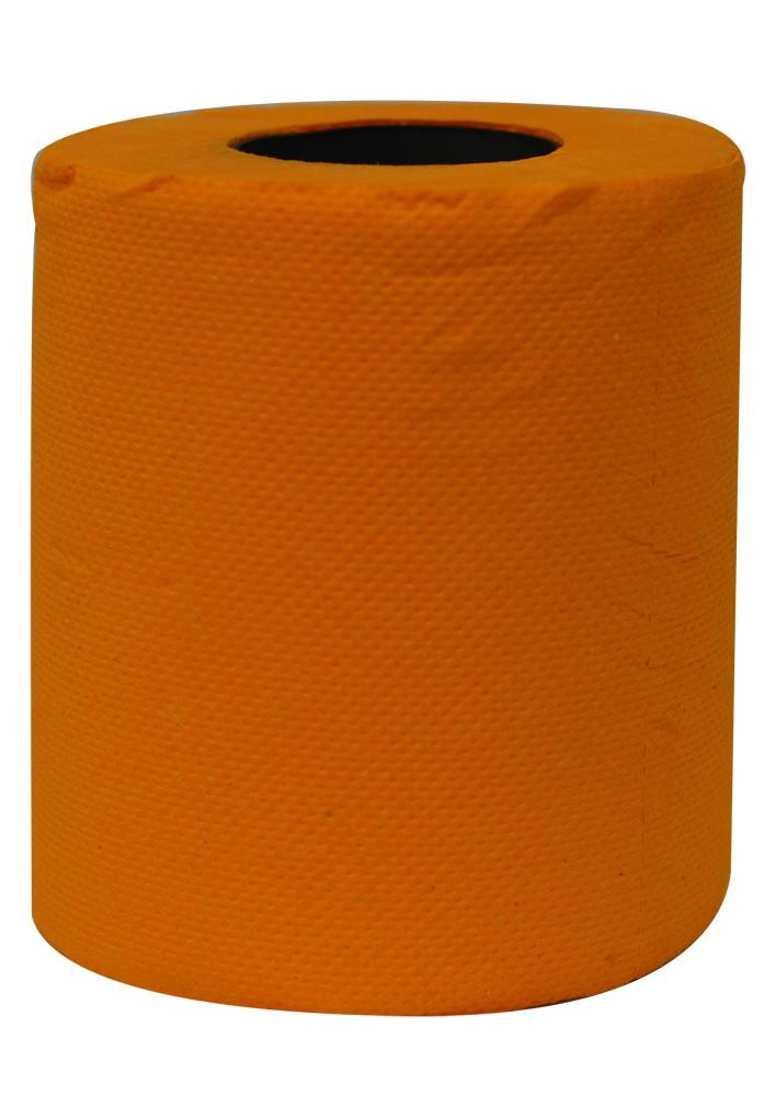 Blaze Orange Novelty Toilet Paper