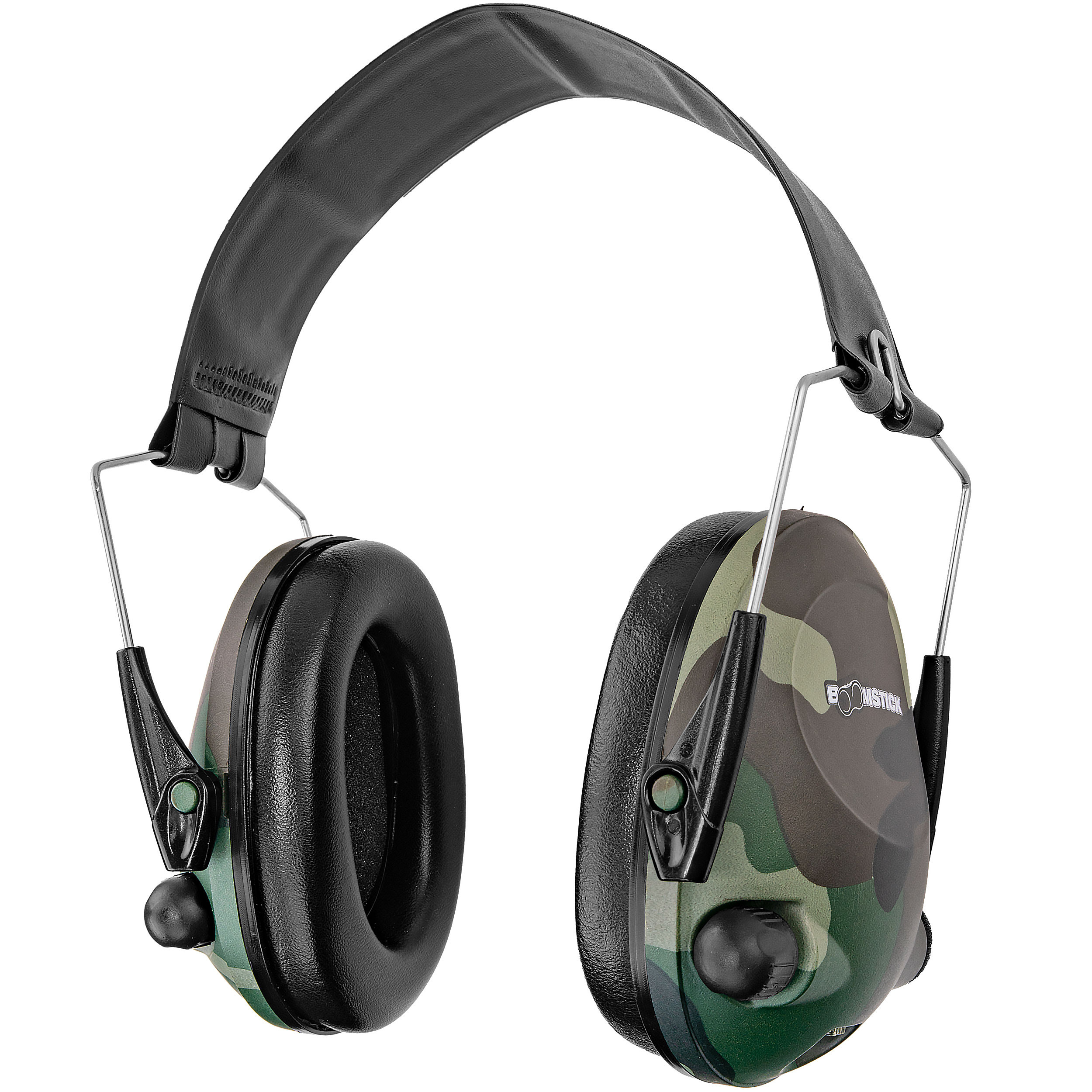 Camo Electronic Ear Muff With 4 AAA