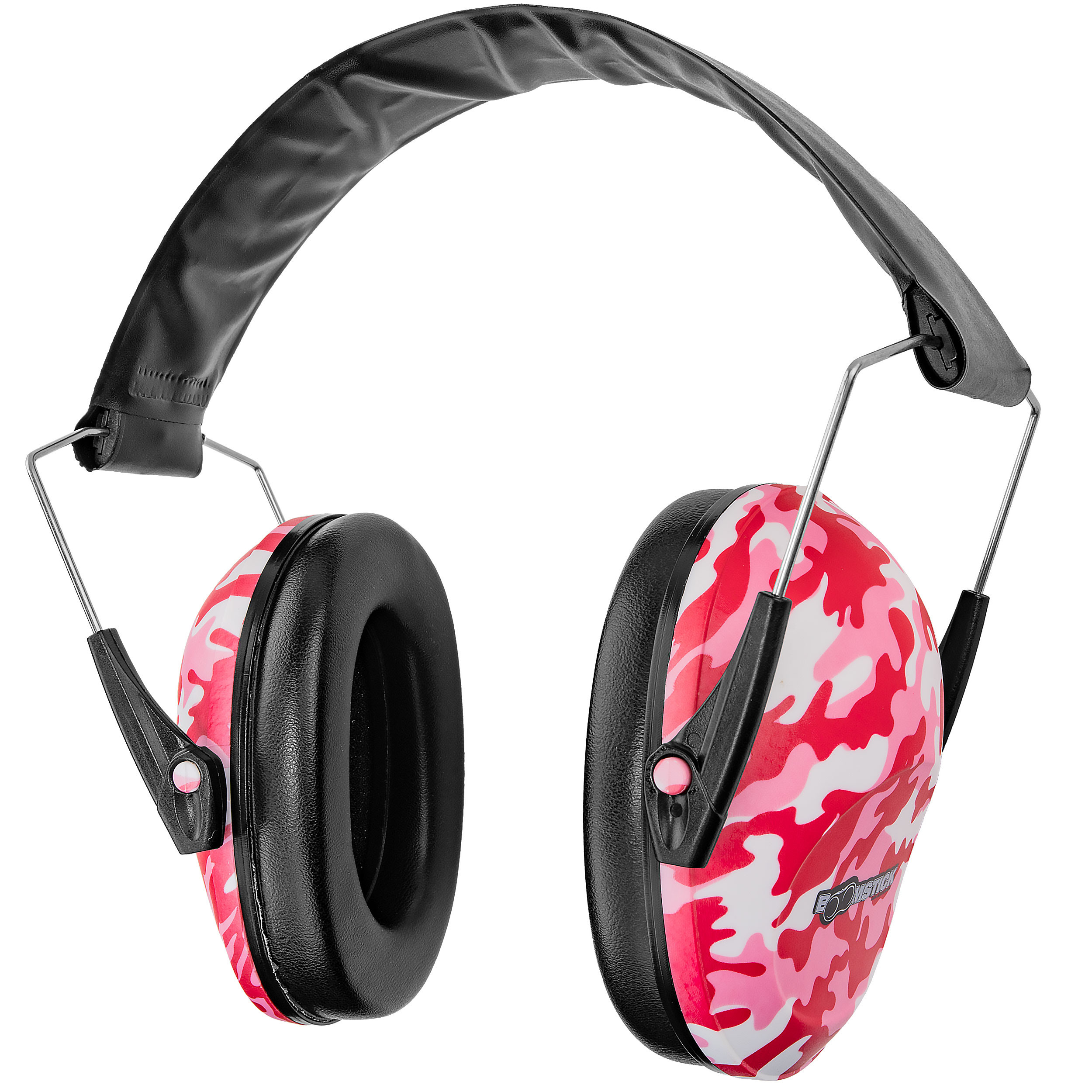 Pink Camo Ear Muff Hearing Protection