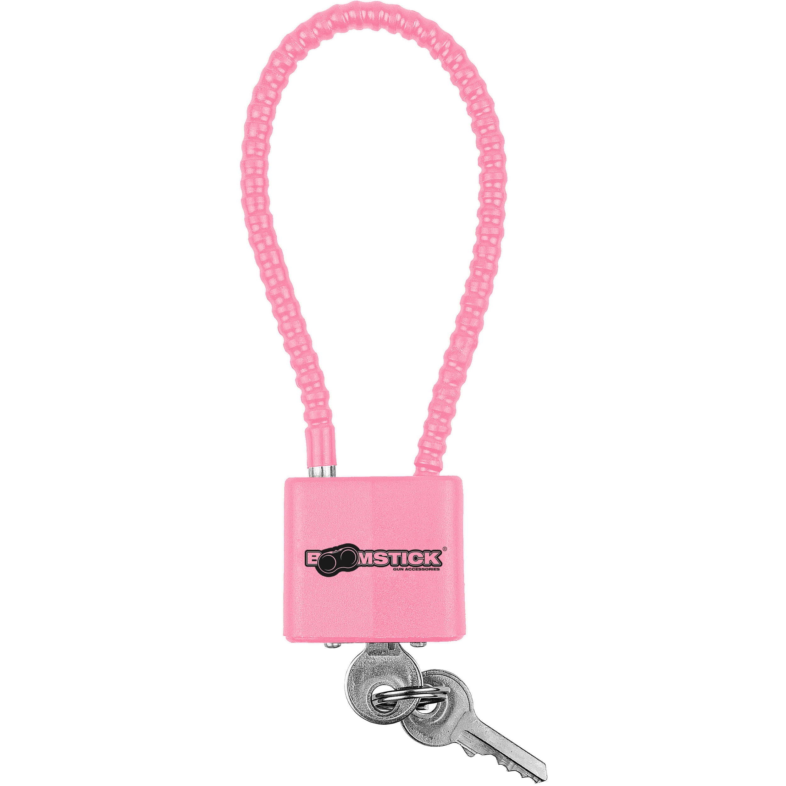 "8.5"" Pink Cable Lock (5.2mm)"