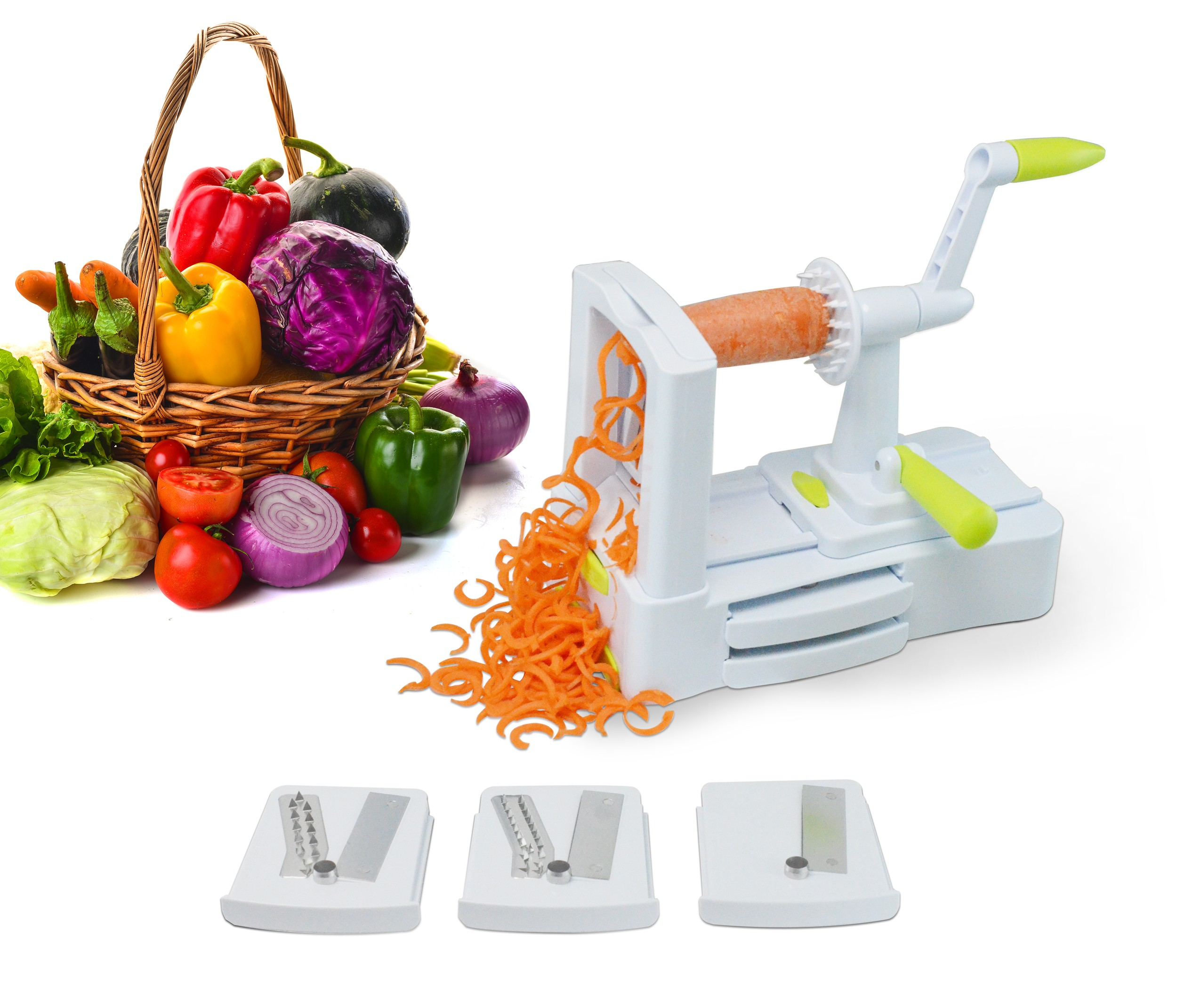 3 Blade Spiral Vegetable Slicer