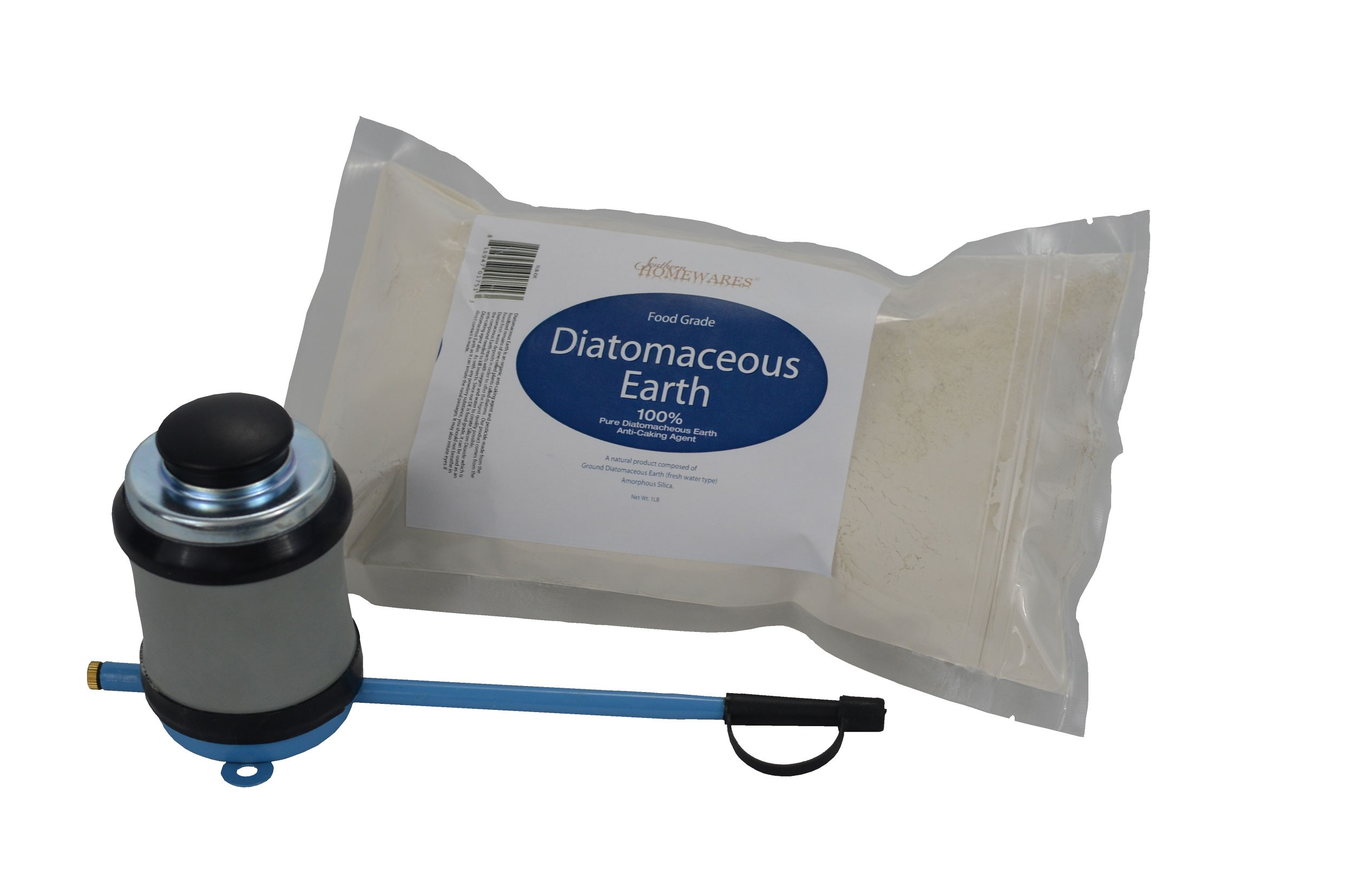Powder Duster with 1lb Diatomaceous Earth Main 2500