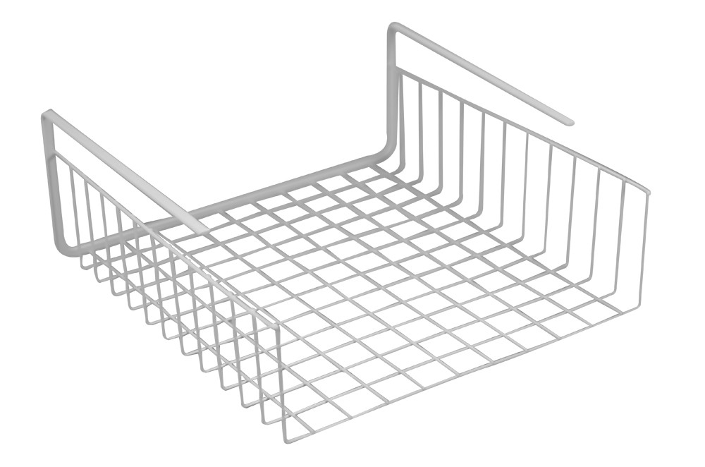 Under Shelf Basket - White Wire Main 1000