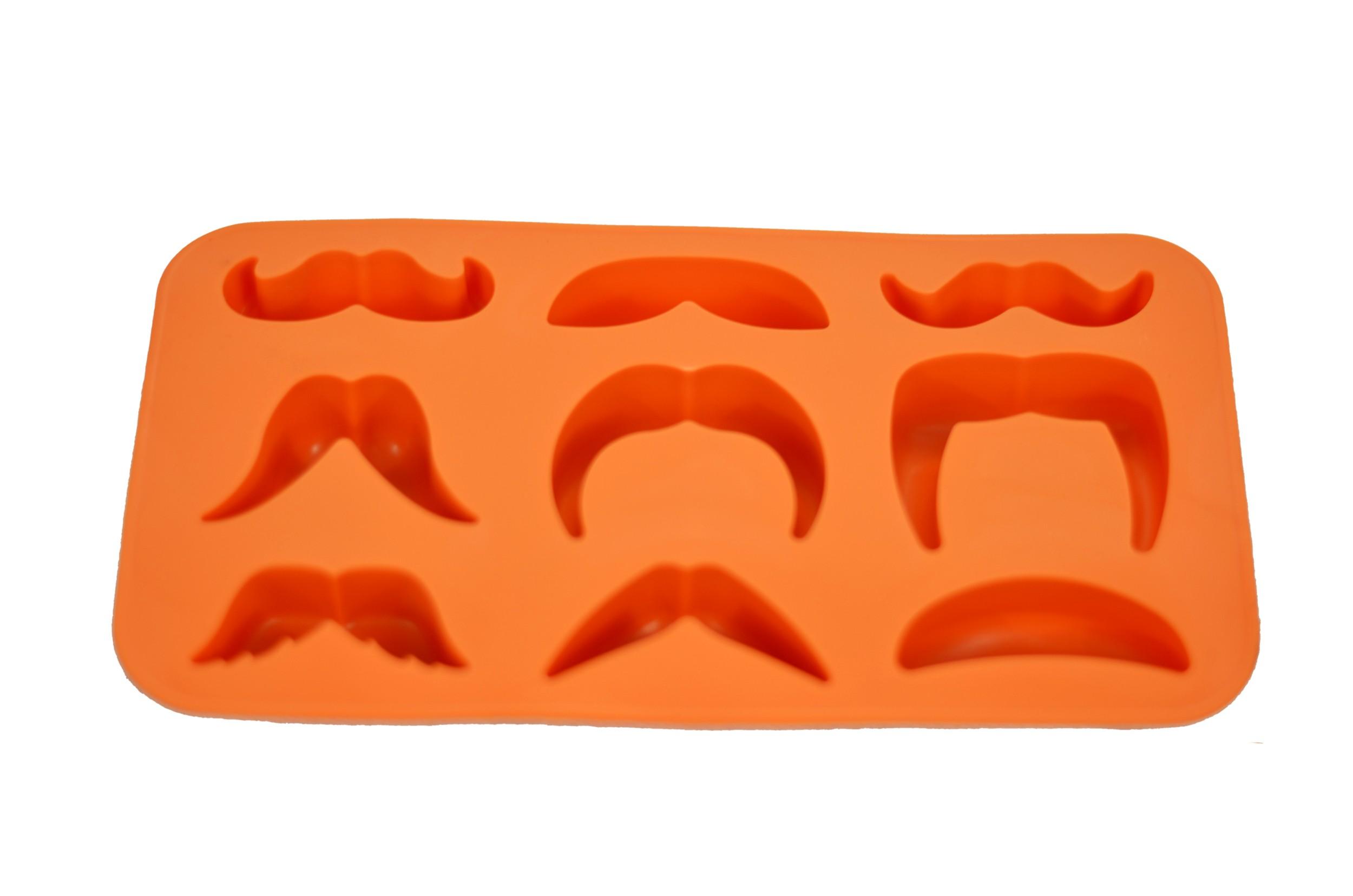 Moustache Variety Ice Cube Tray Main 2500