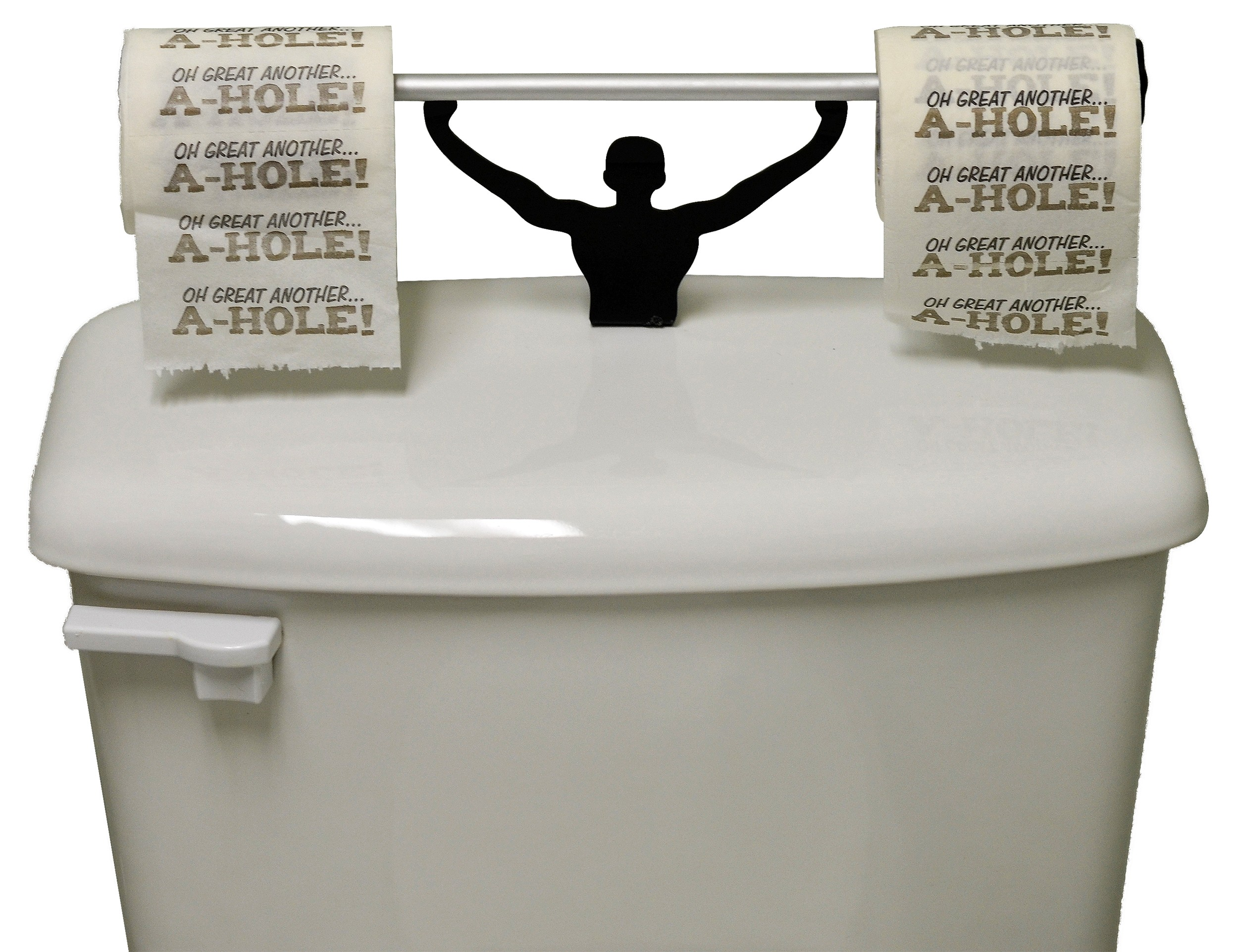 Novelty Toilet Paper Holder Gift Set