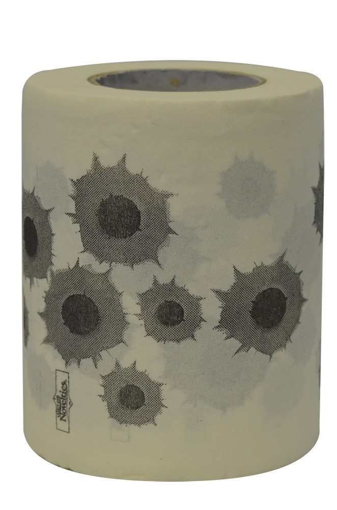Bullet Holes Novelty Toilet Paper
