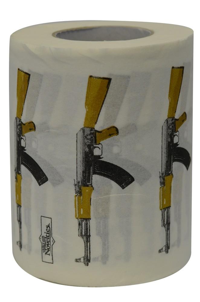 AK 47 Gun Novelty Toilet Paper