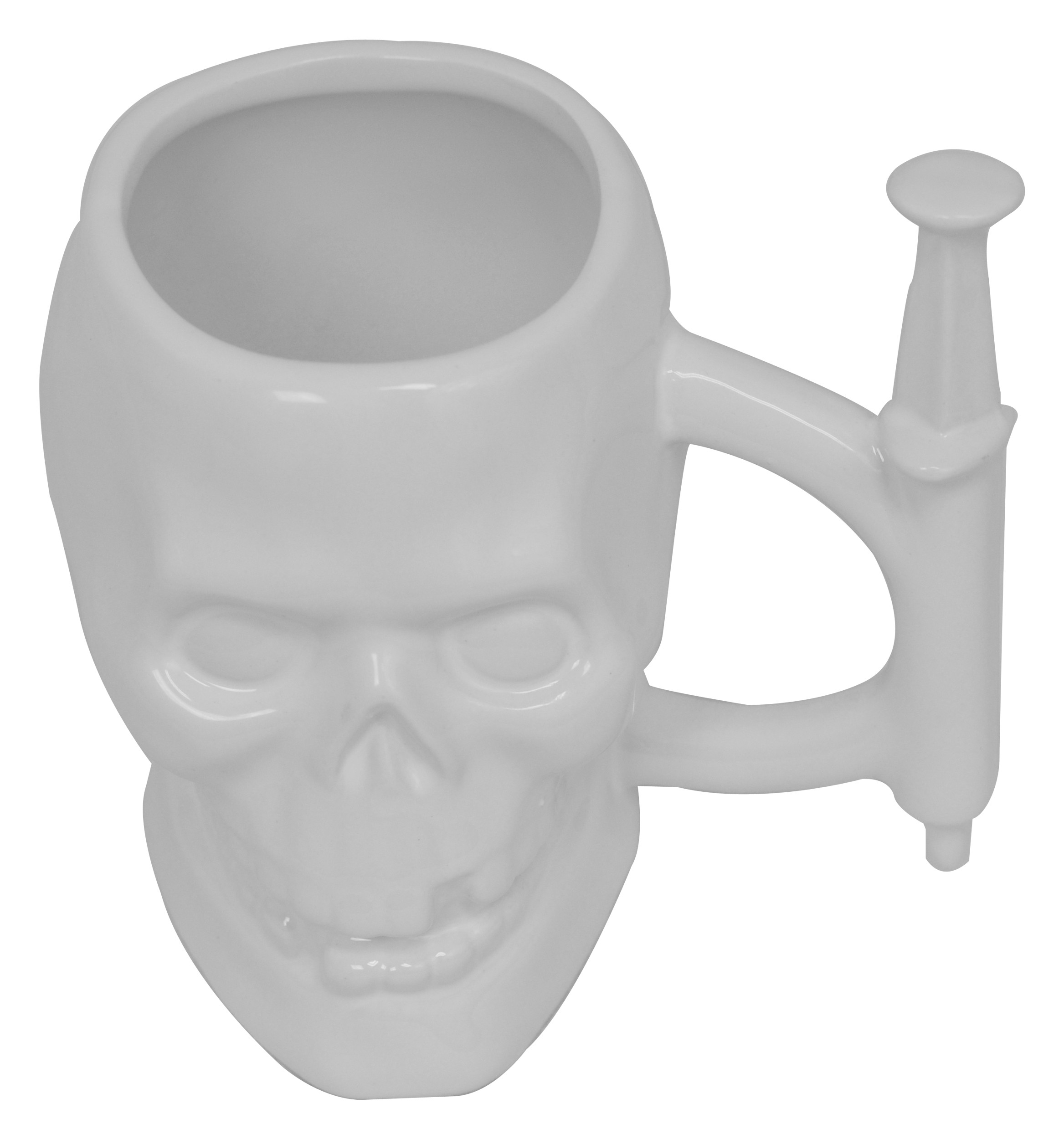 Skull Syringe Mug