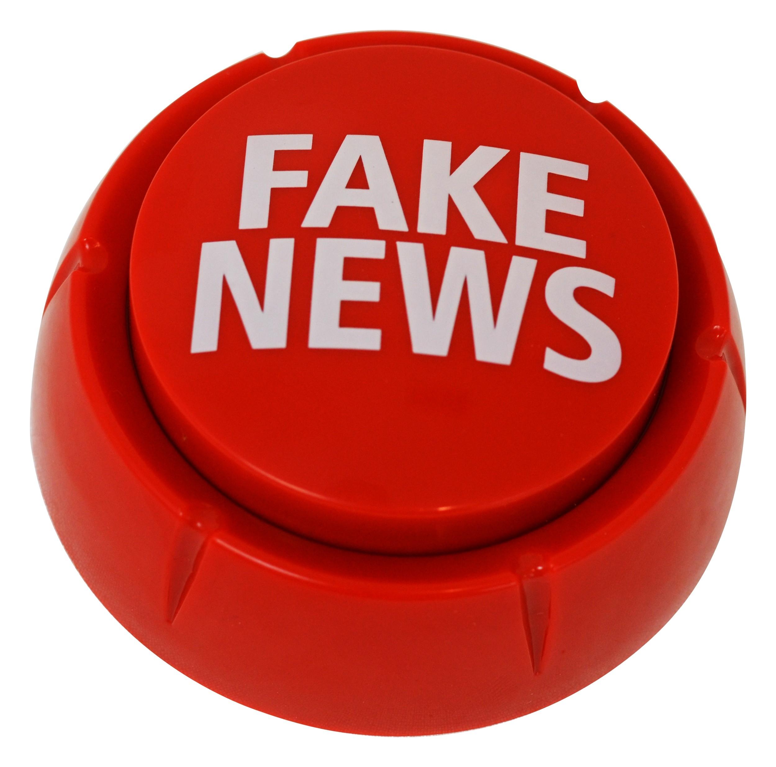 Trump Fake News Button