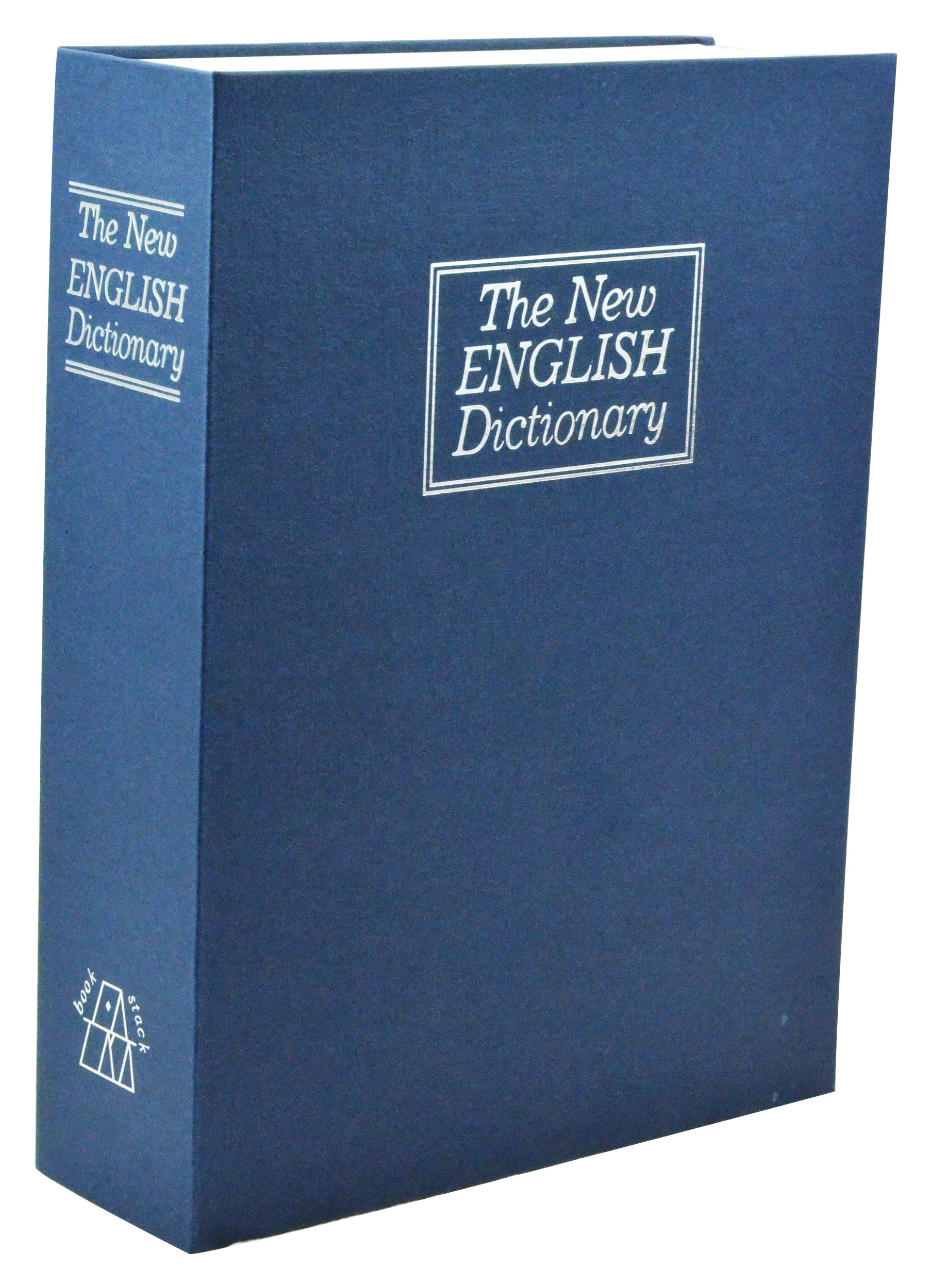 Large New English Dictionary Book Safe - Blue