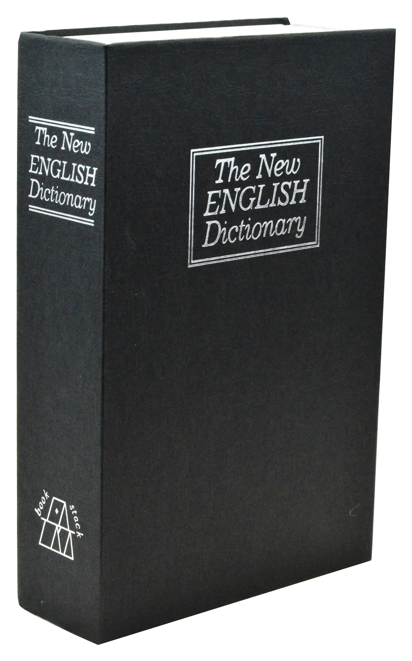 Medium New English Dictionary Book Safe - Black