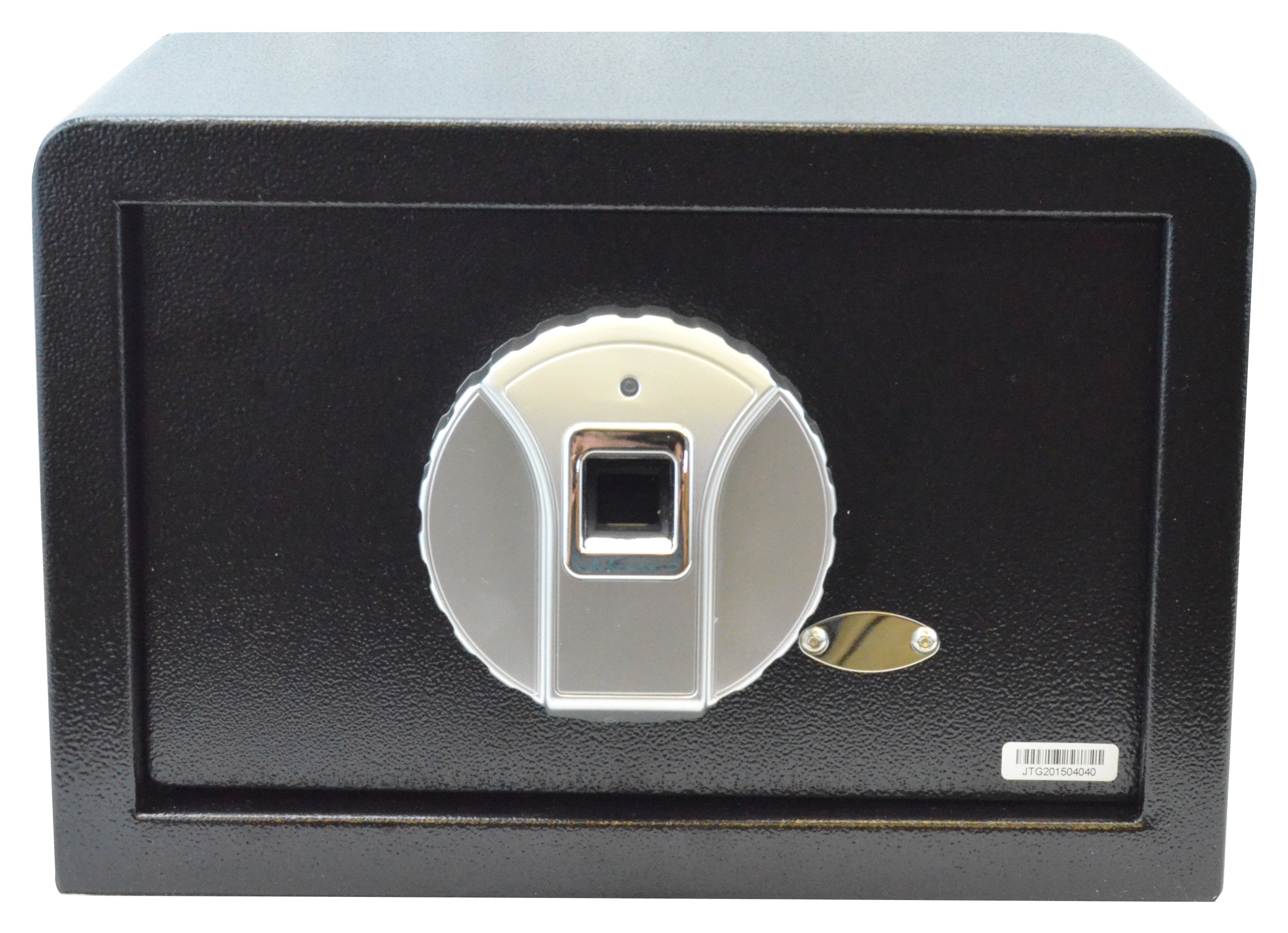 Biometric Safe, Silver Panel