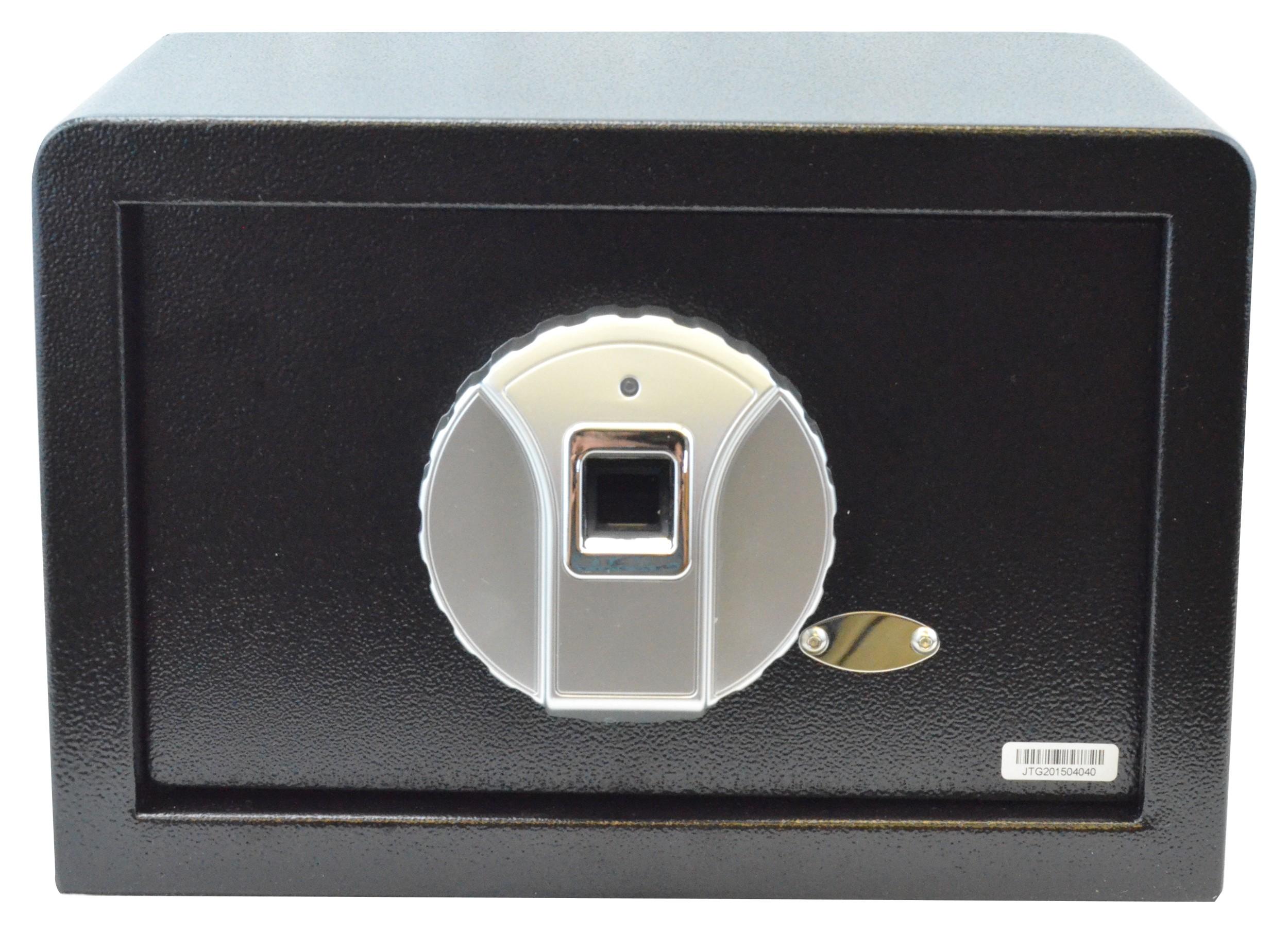 Biometric Safe, Silver Panel