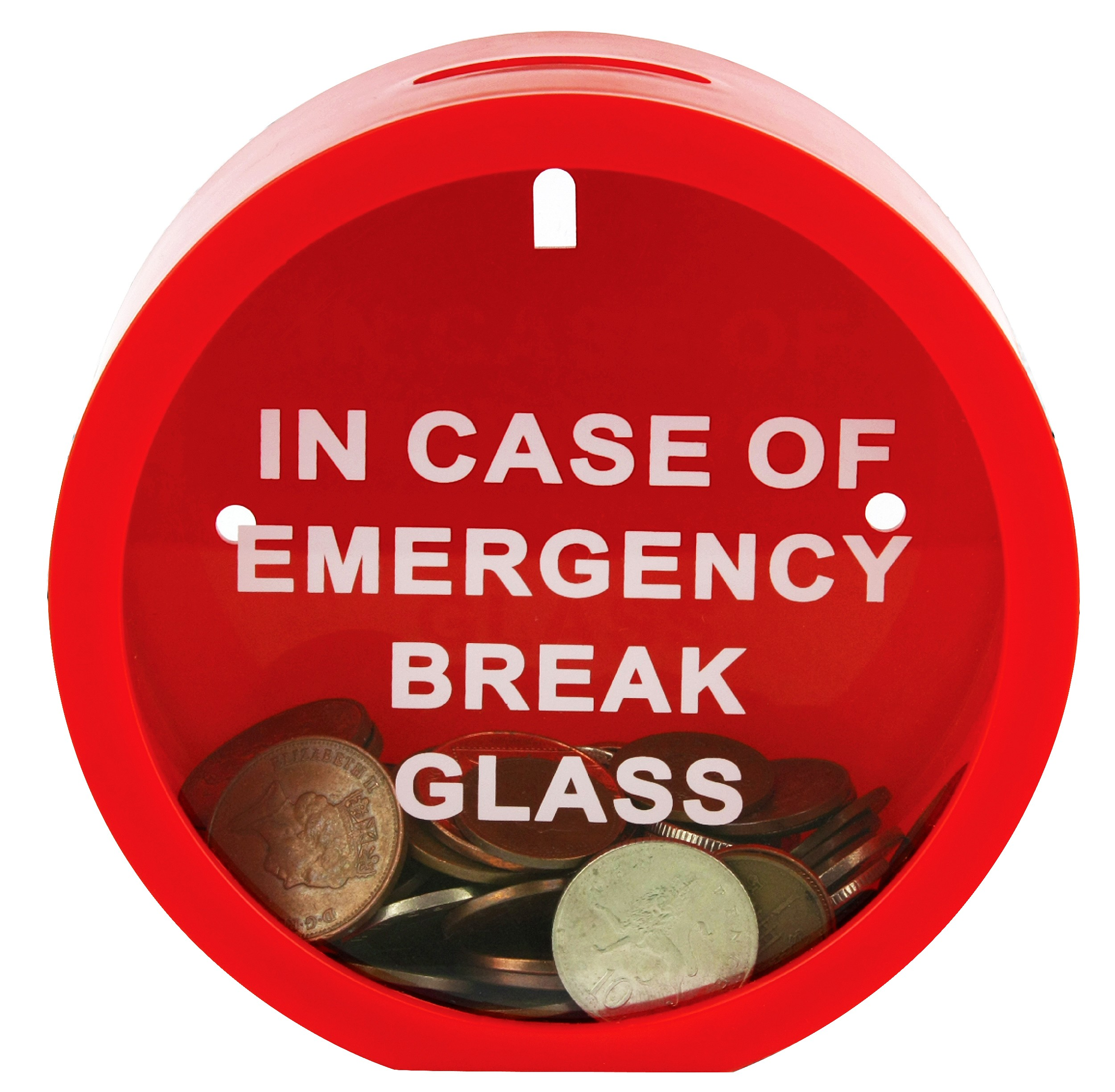 Emergency Money Box - In Case Of Emergency Break Glass