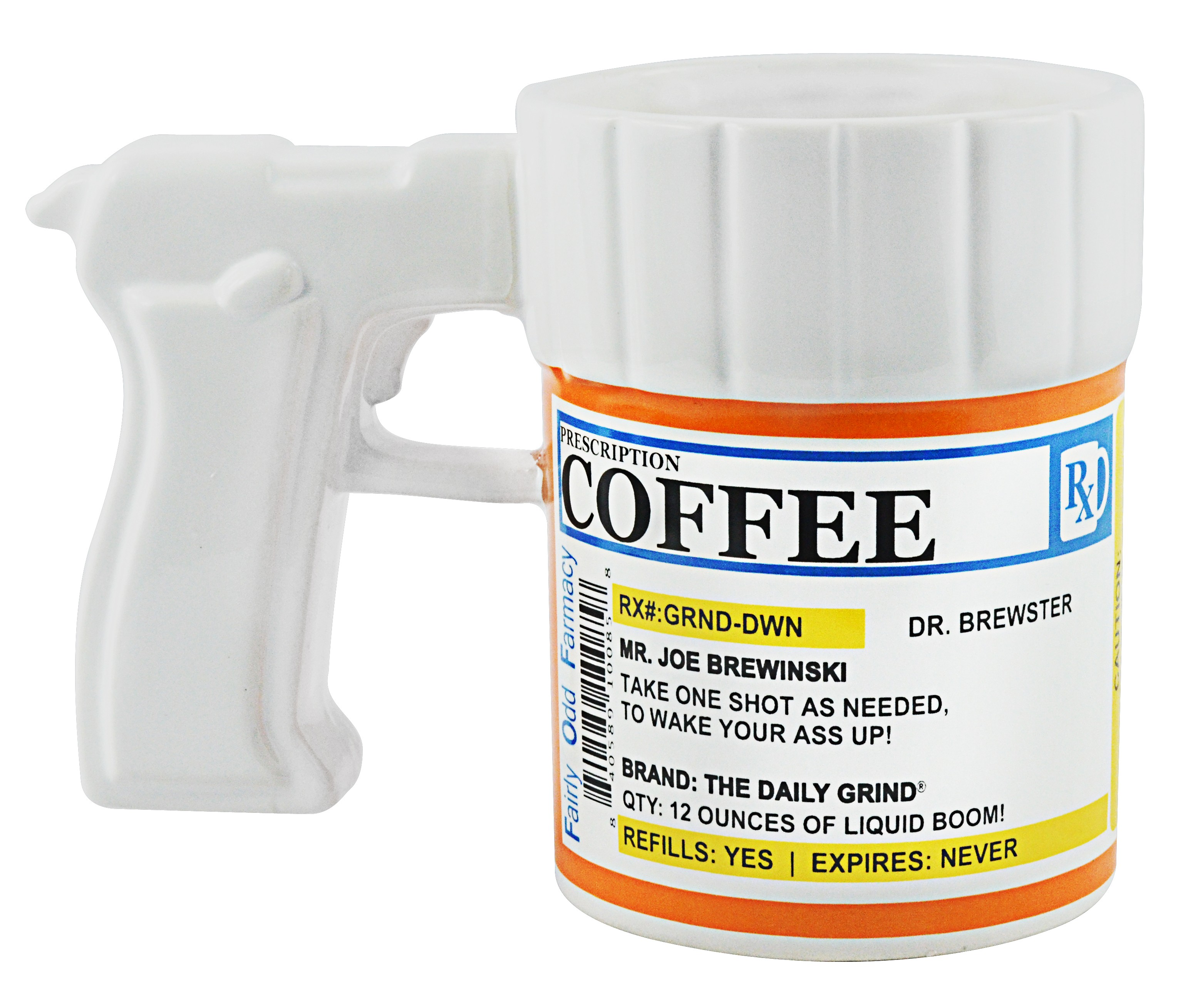 Prescription Gun Coffee Mug