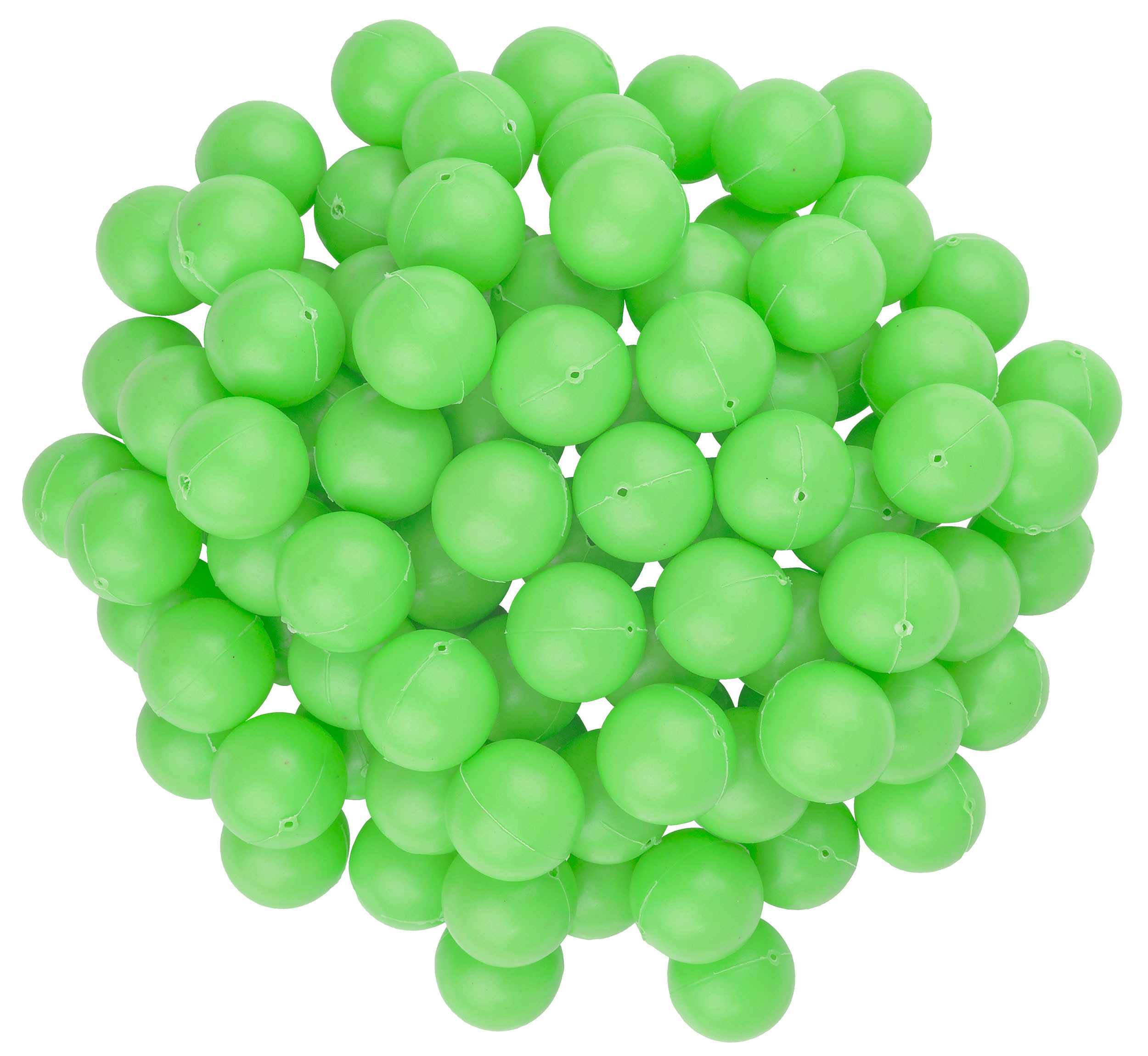 Green Mini Beer Pong Balls