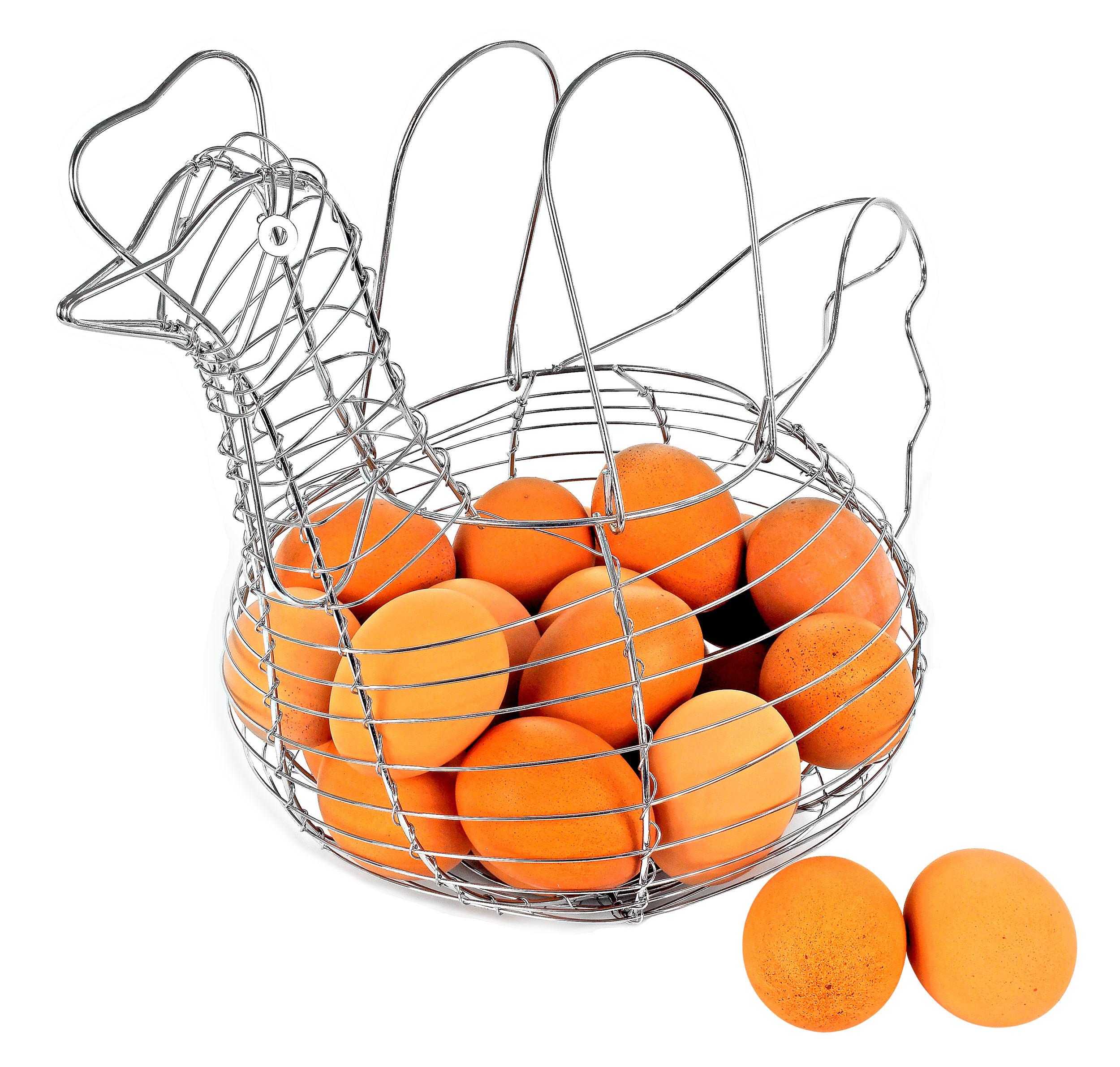 Chicken Egg Wire Basket