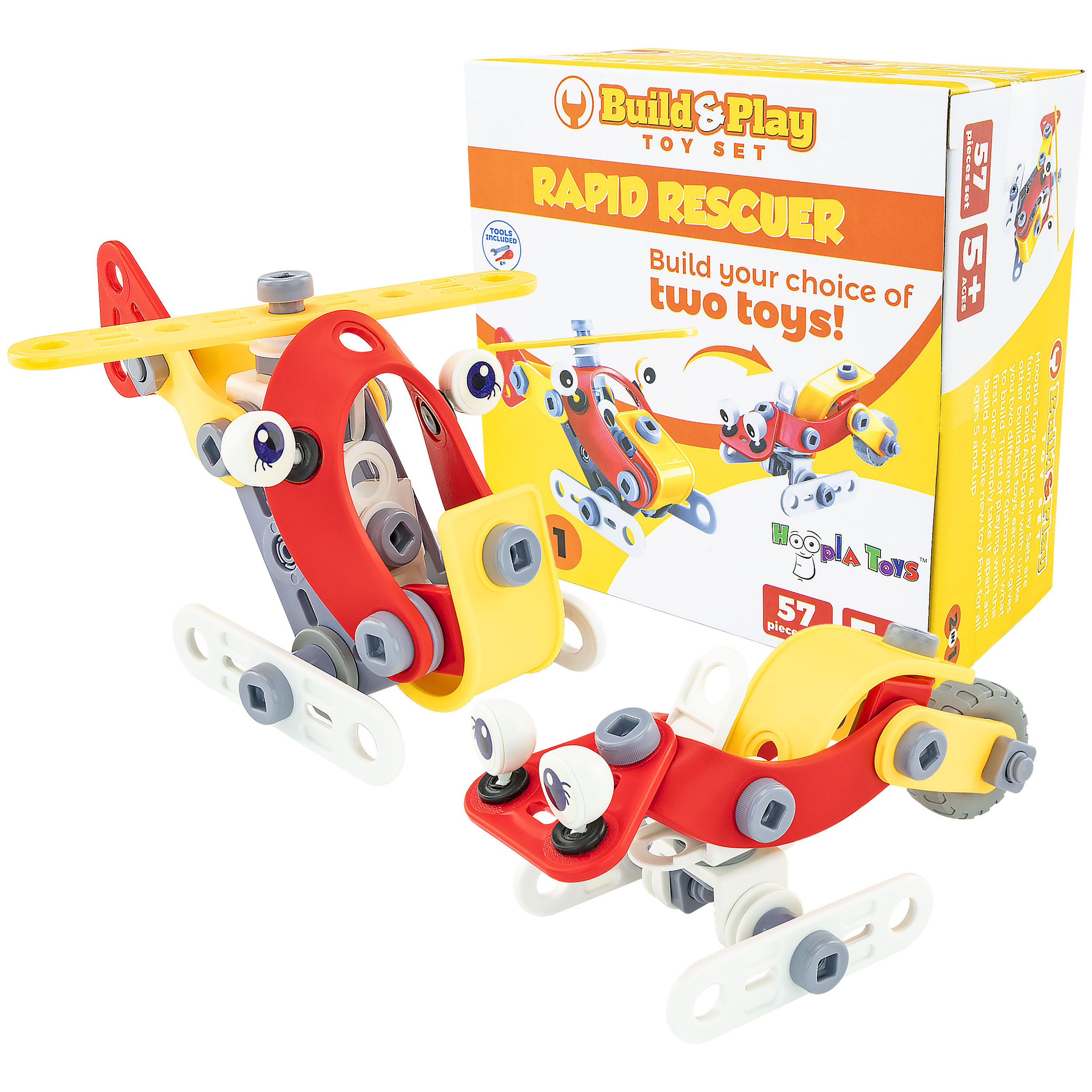 Build and Play Toy Set Box 4