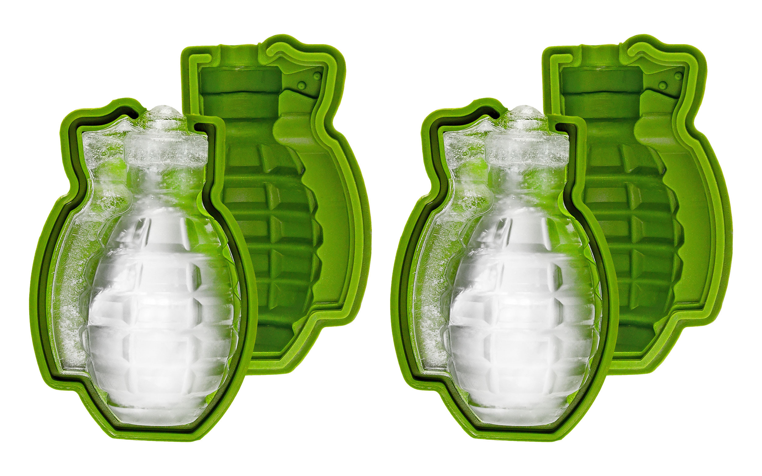 Grenade Ice Cube Mould, 2 Pack