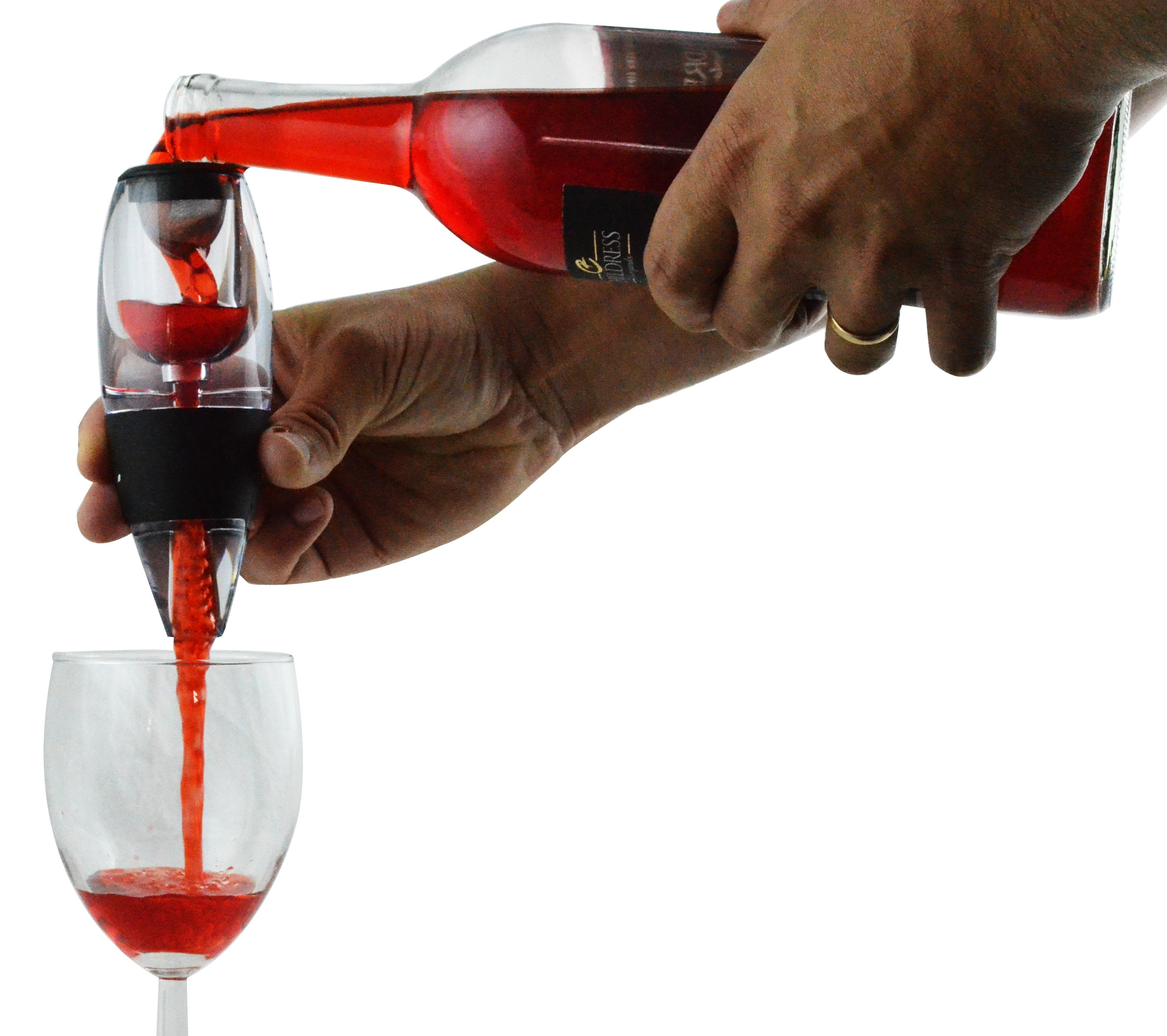Wine Aerator Decanter Set w/Stand