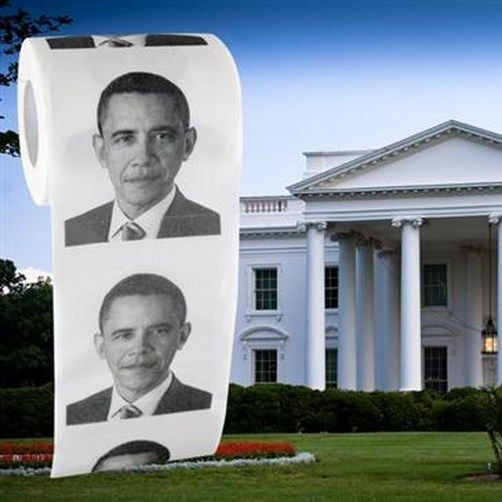 Obama Novelty Toilet Paper