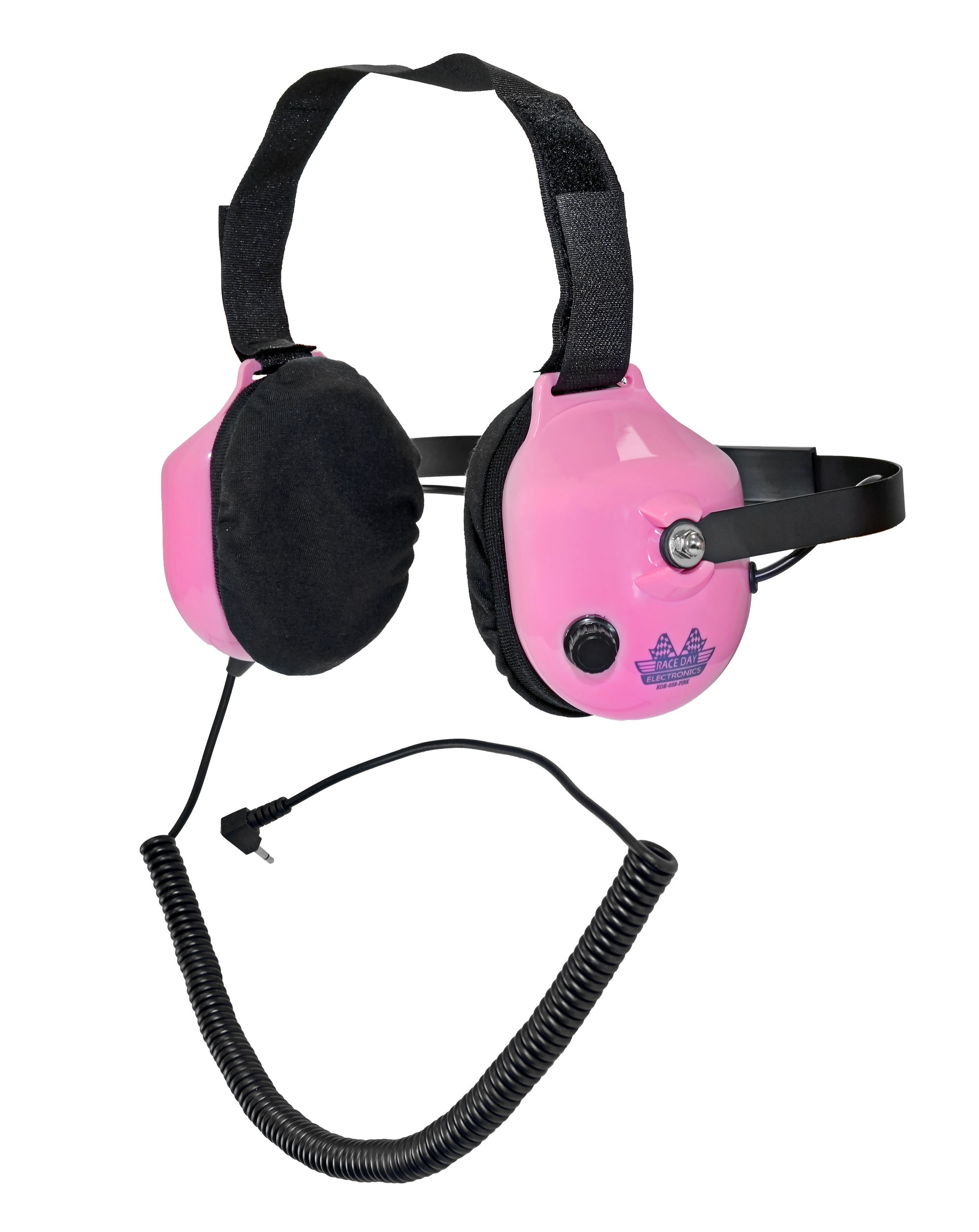 Noise-Reducing Race Scanner Headphones - Pink