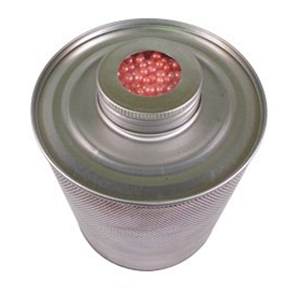 750 Gram Scented Silica Gel Steel Canister - Rose Main 1000