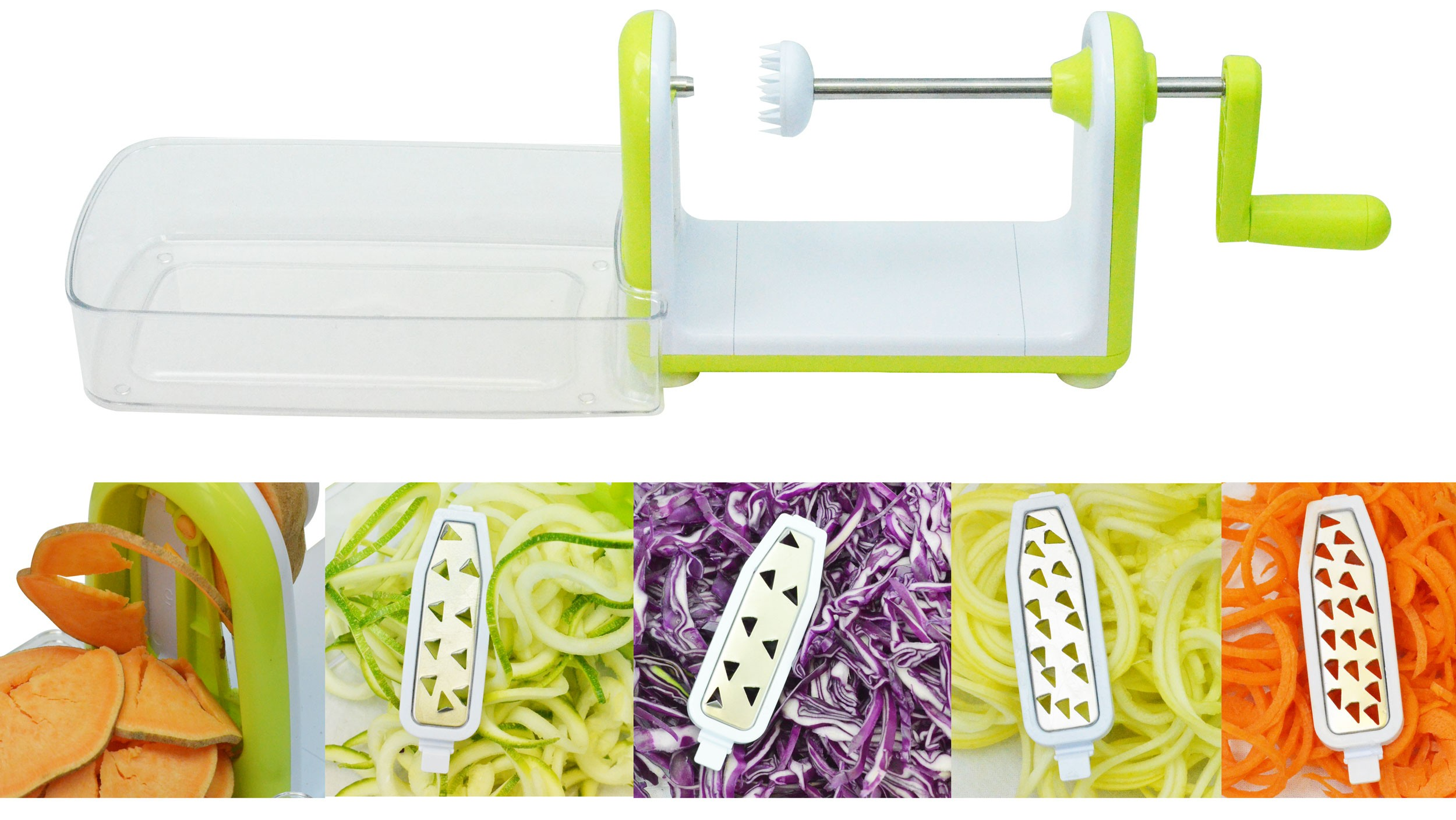 5 Blade Spiral Vegetable Slicer