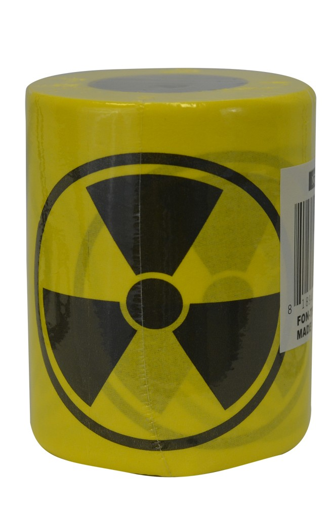 Toxic Nuclear Novelty Toilet Paper