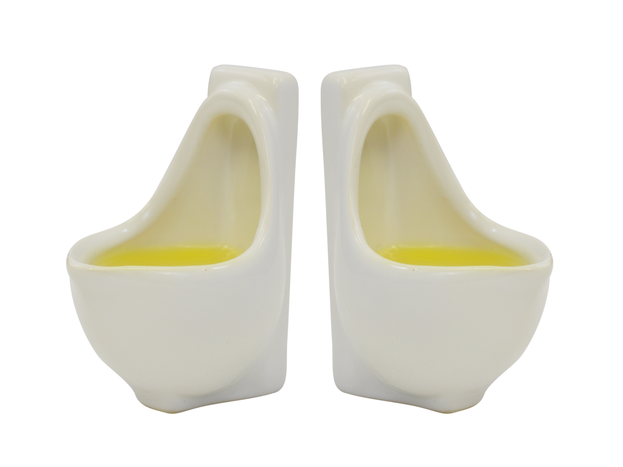 Urinal Shot Glasses - Set of 2