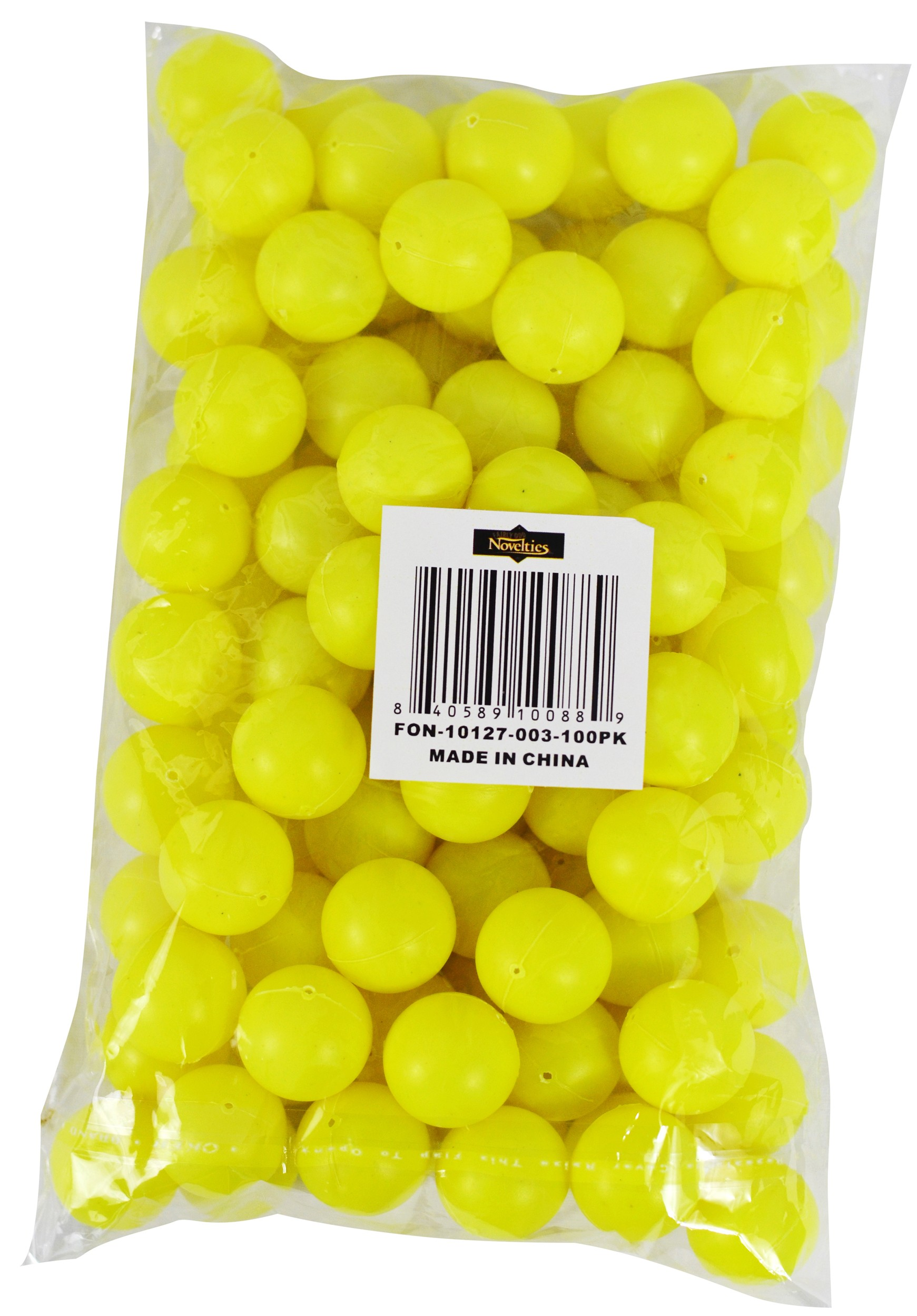 Yellow Mini Beer Pong Balls