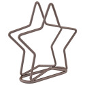 Star Napkin Holder Bronze