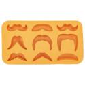 Moustache Variety Ice Cube Tray