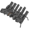 Handgun Rack 6 Gun Model, Black