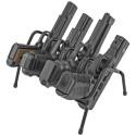 Handgun Rack 4 Gun Model, Black