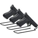 Handgun Stand Rack Single Gun Model Pack of 3 - Fits .25 And Up